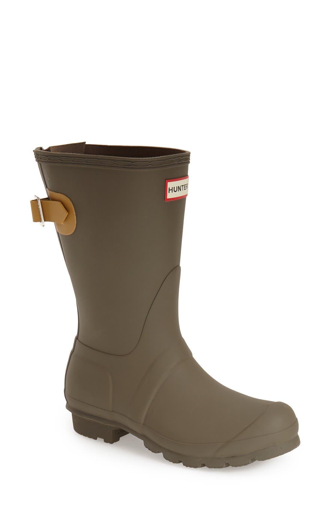 Original Short Back Adjustable Rain Boot,                             Main thumbnail 5, color,