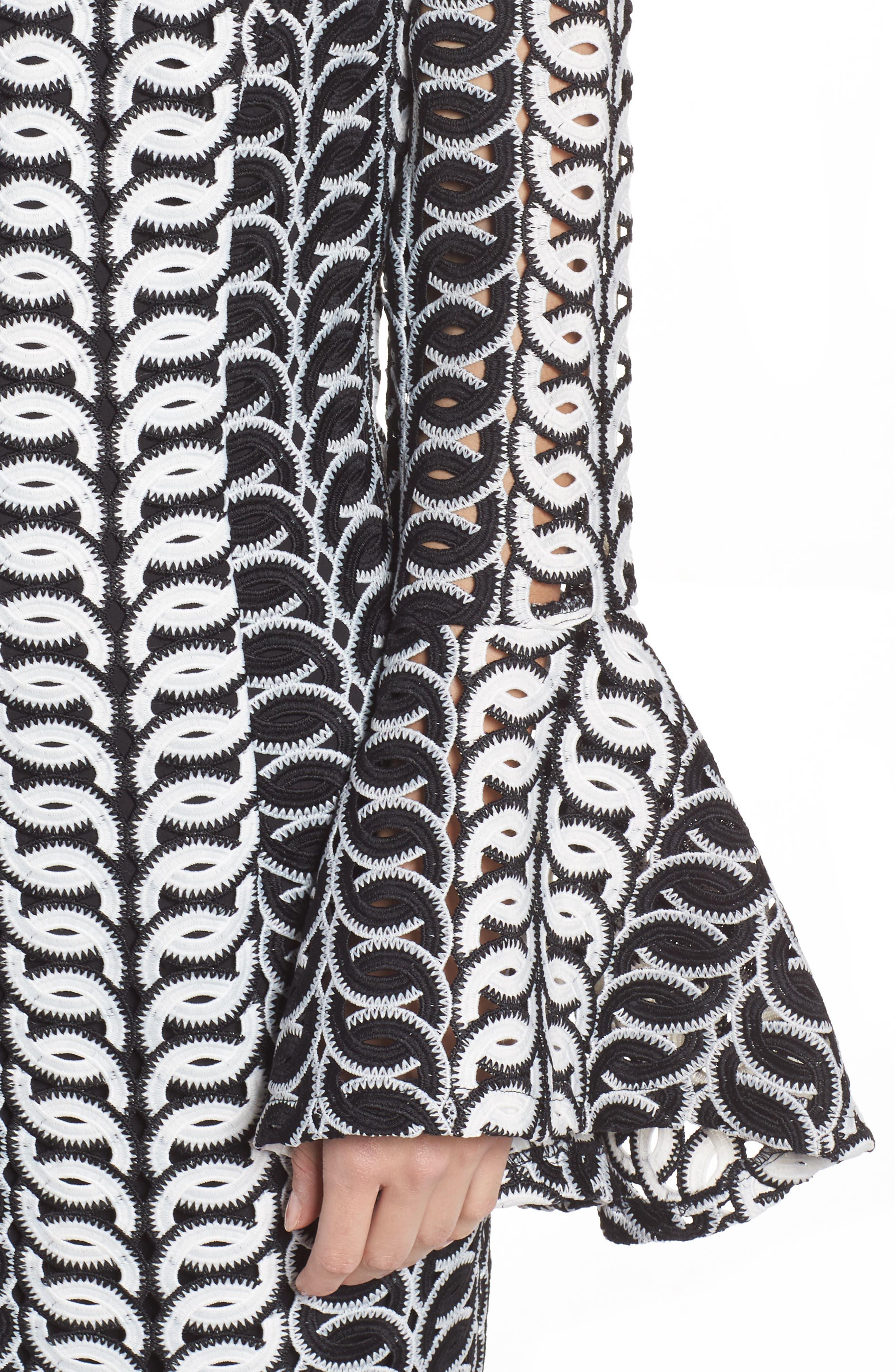 Chantelle Lace Off the Shoulder Dress,                             Alternate thumbnail 4, color,                             016