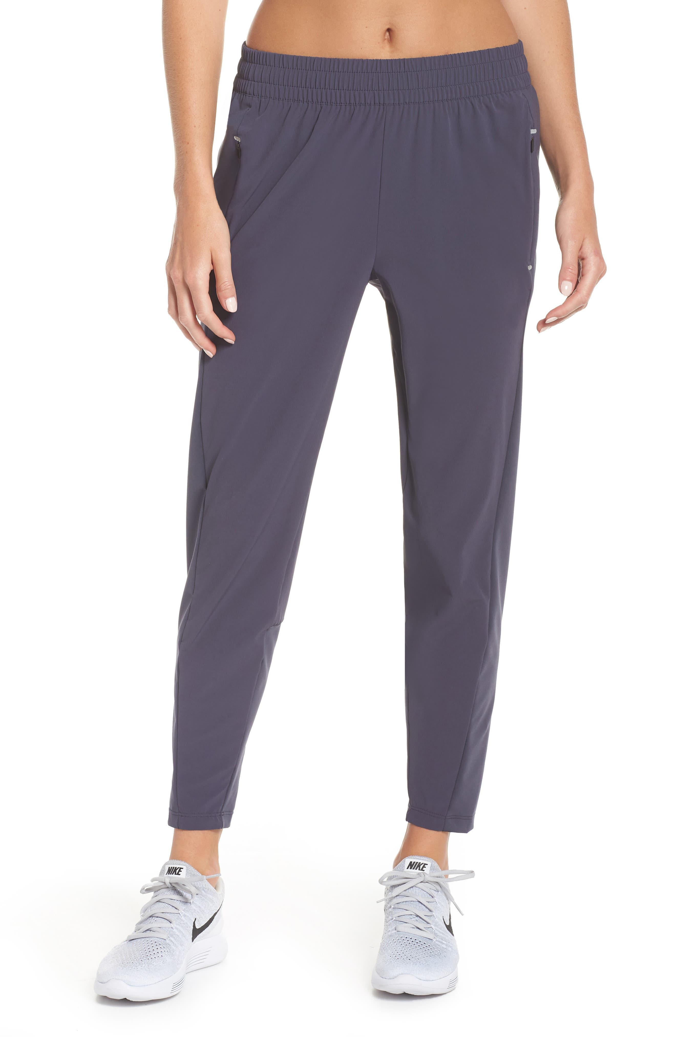 Swift Running Pants,                         Main,                         color, GRIDIRON/ GRIDIRON