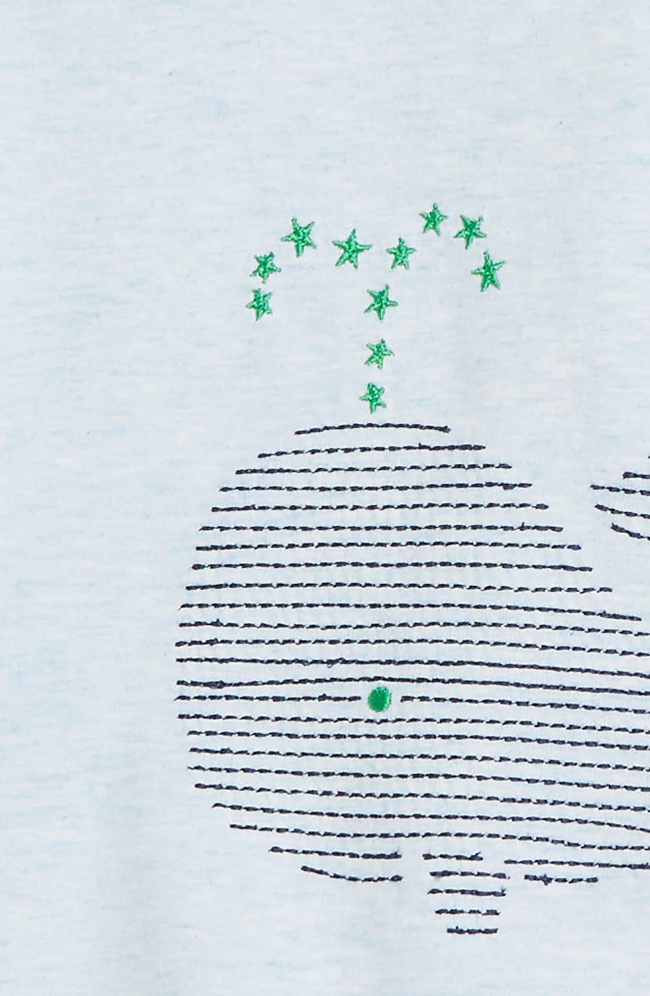Whale T-Shirt, Pants & Socks Set,                             Alternate thumbnail 2, color,                             415