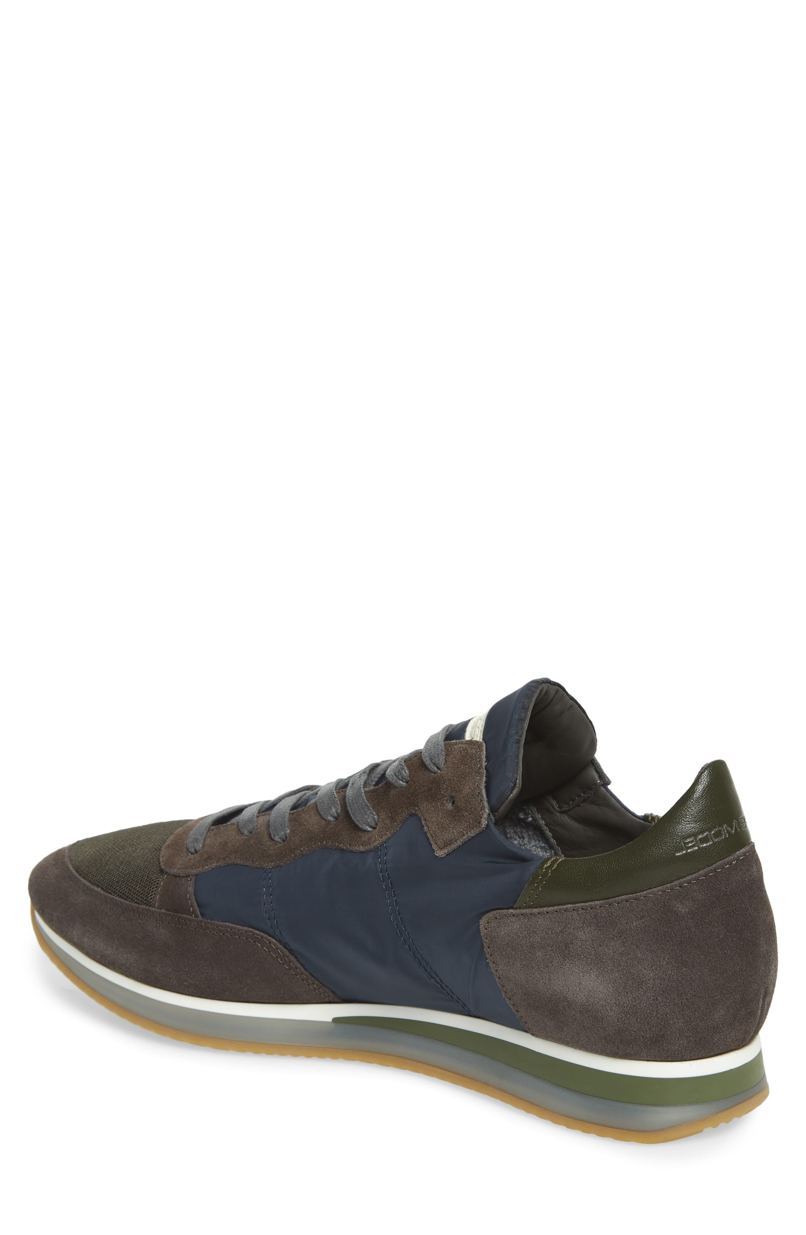Tropez Low Top Sneaker,                             Alternate thumbnail 2, color,                             BLUE/ GREY