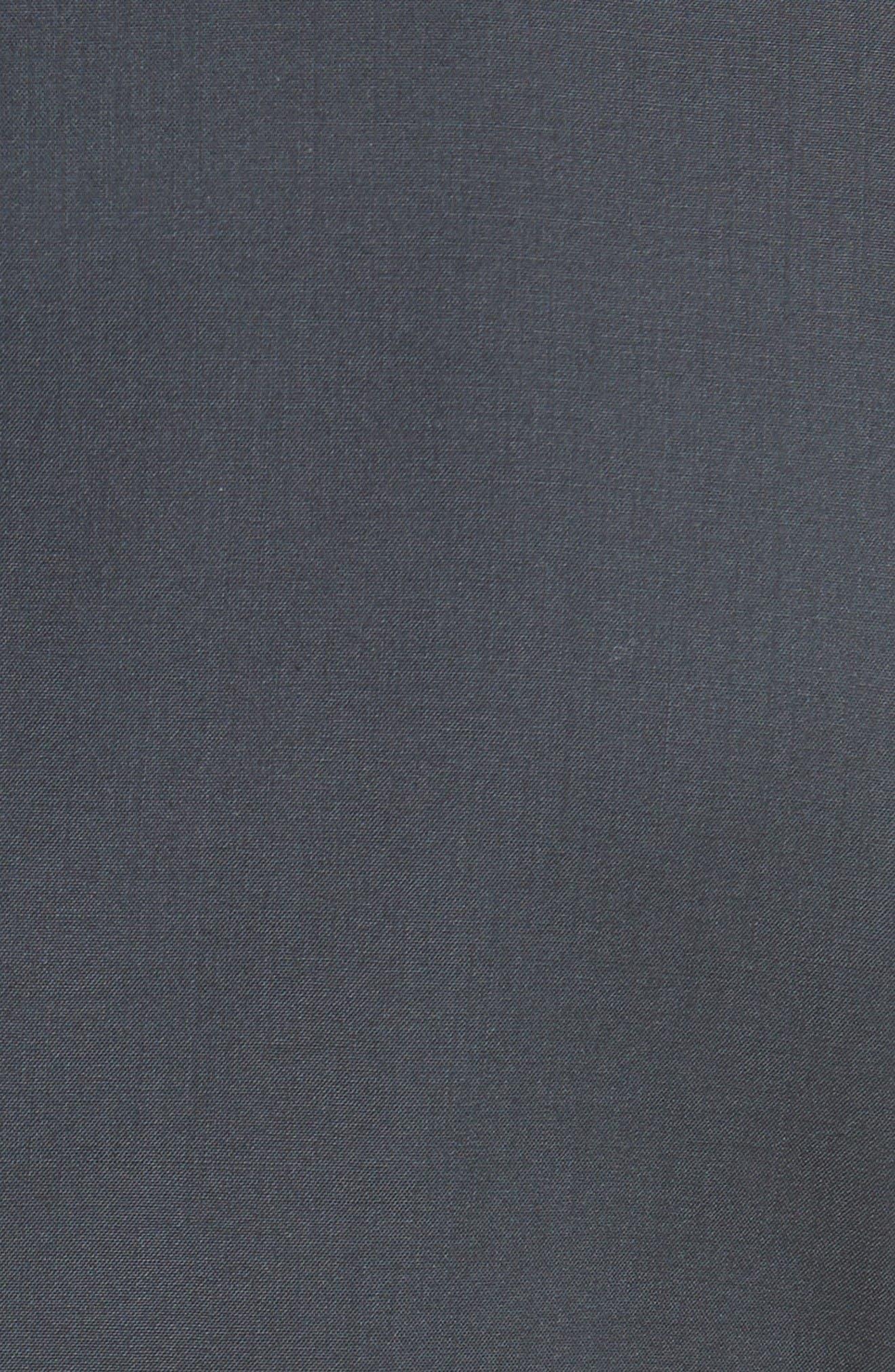 Tropical Wool Suit Jacket,                             Alternate thumbnail 8, color,                             NAVY