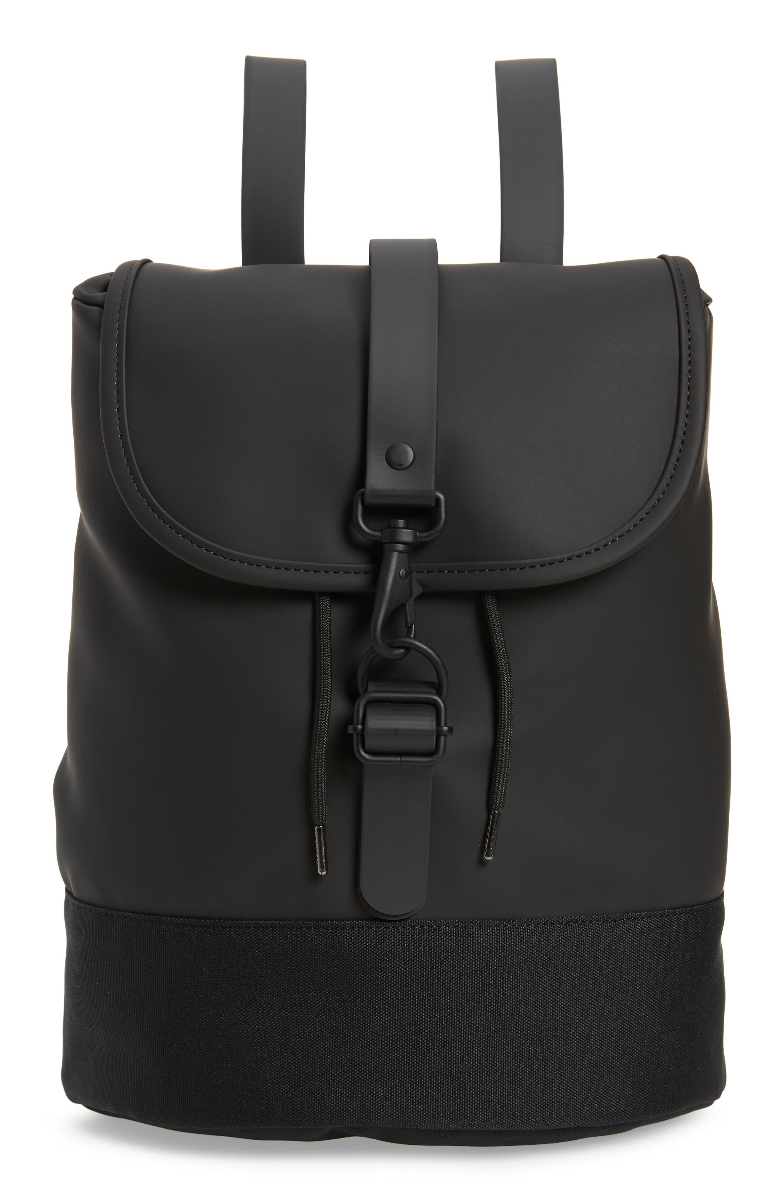 Waterproof Drawstring Backpack by Rains