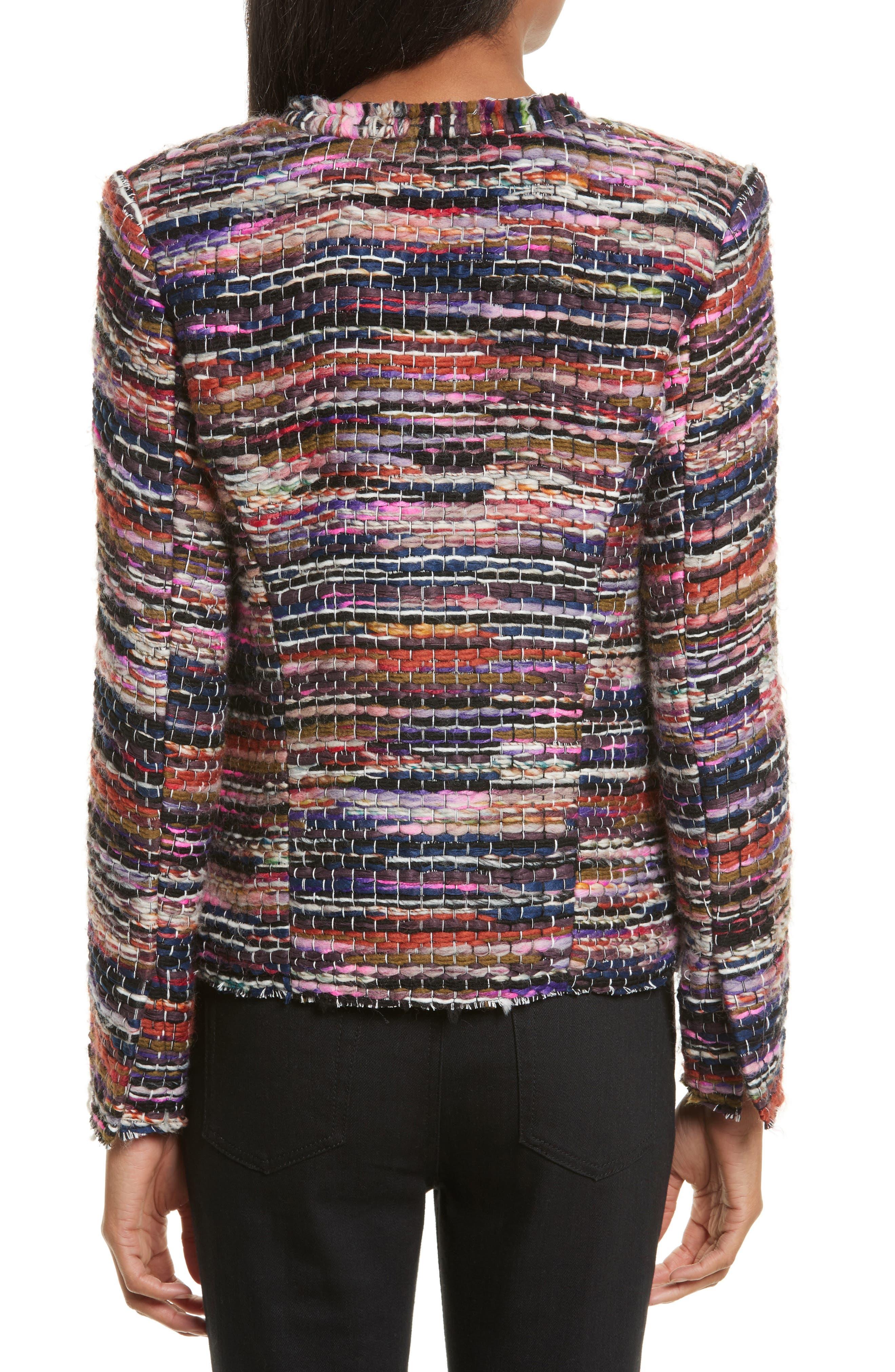 Namanta Tweed Jacket,                             Alternate thumbnail 2, color,                             608