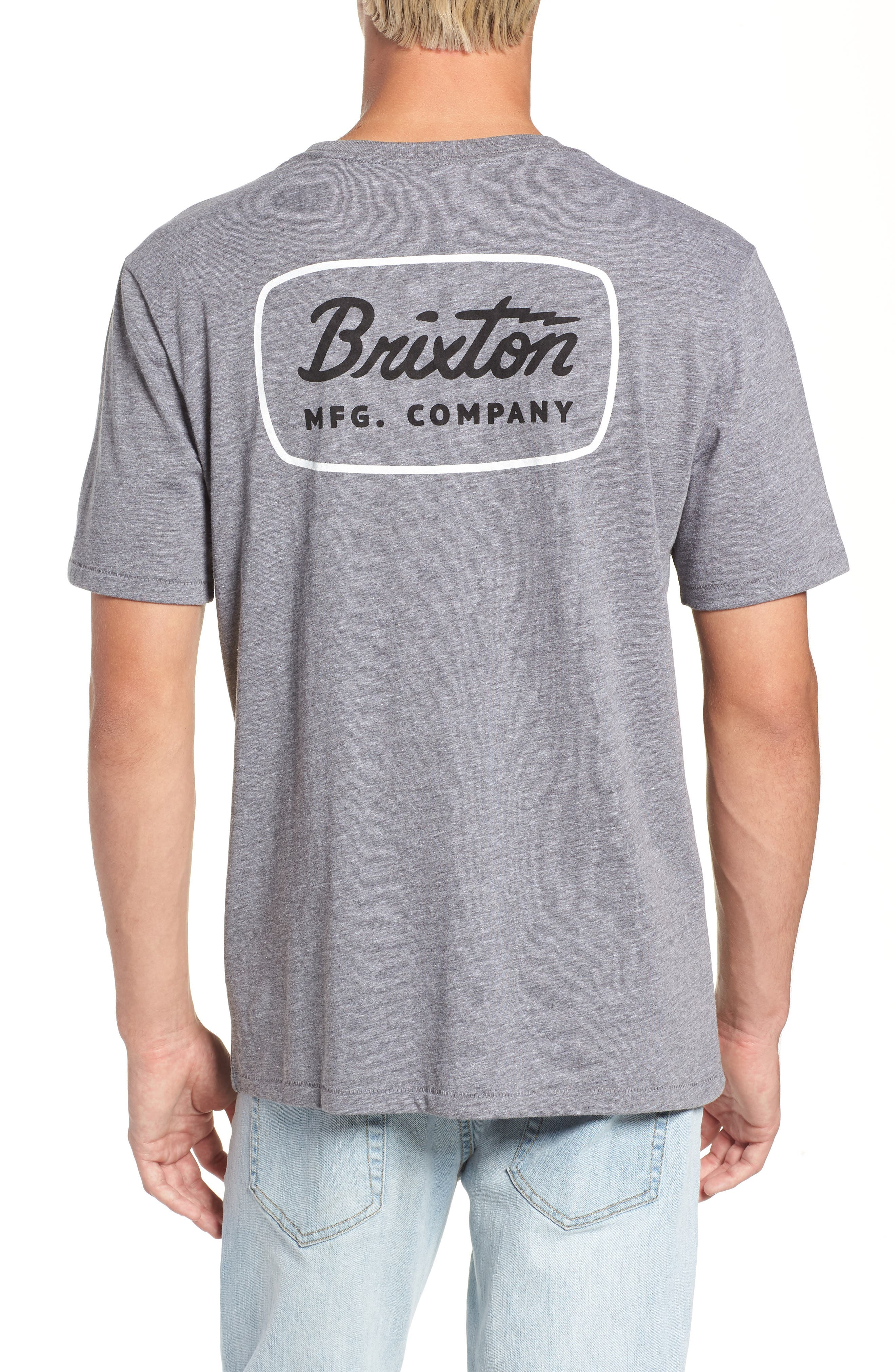 Jolt T-Shirt,                             Alternate thumbnail 2, color,                             HEATHER GREY/ WHITE