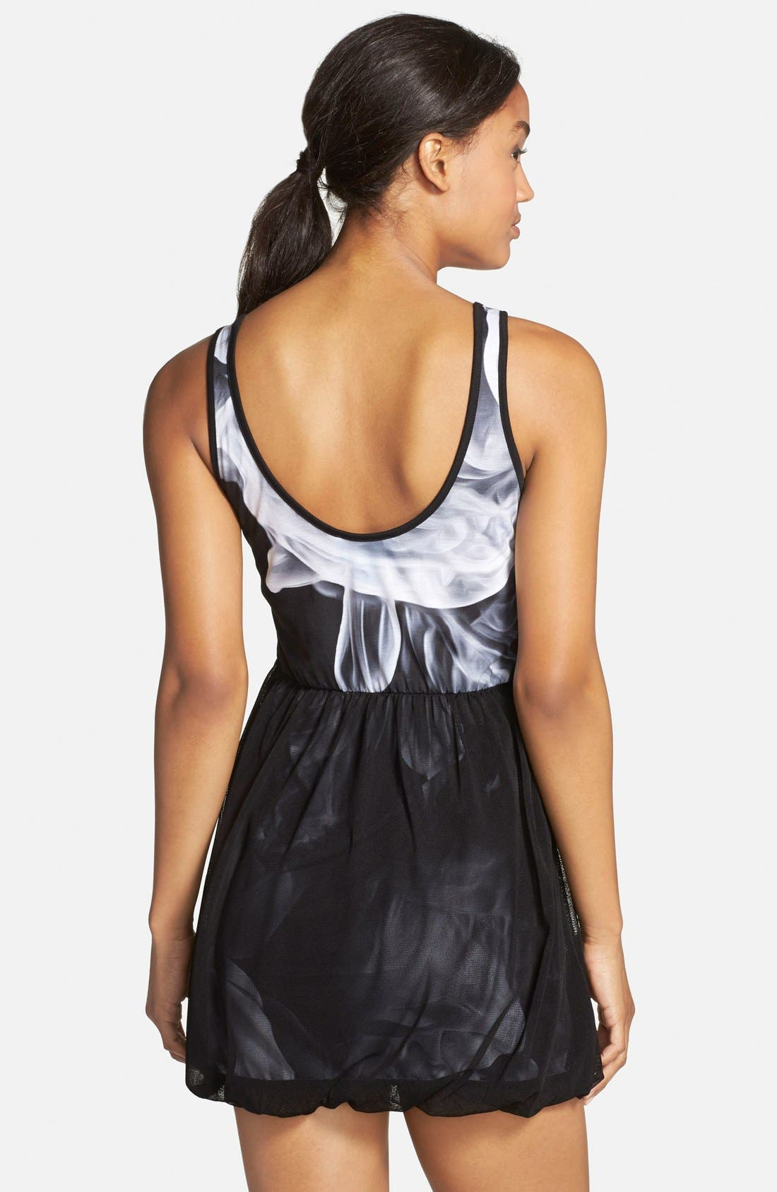adidas 'White Smoke' Tank Dress,                             Alternate thumbnail 2, color,                             001