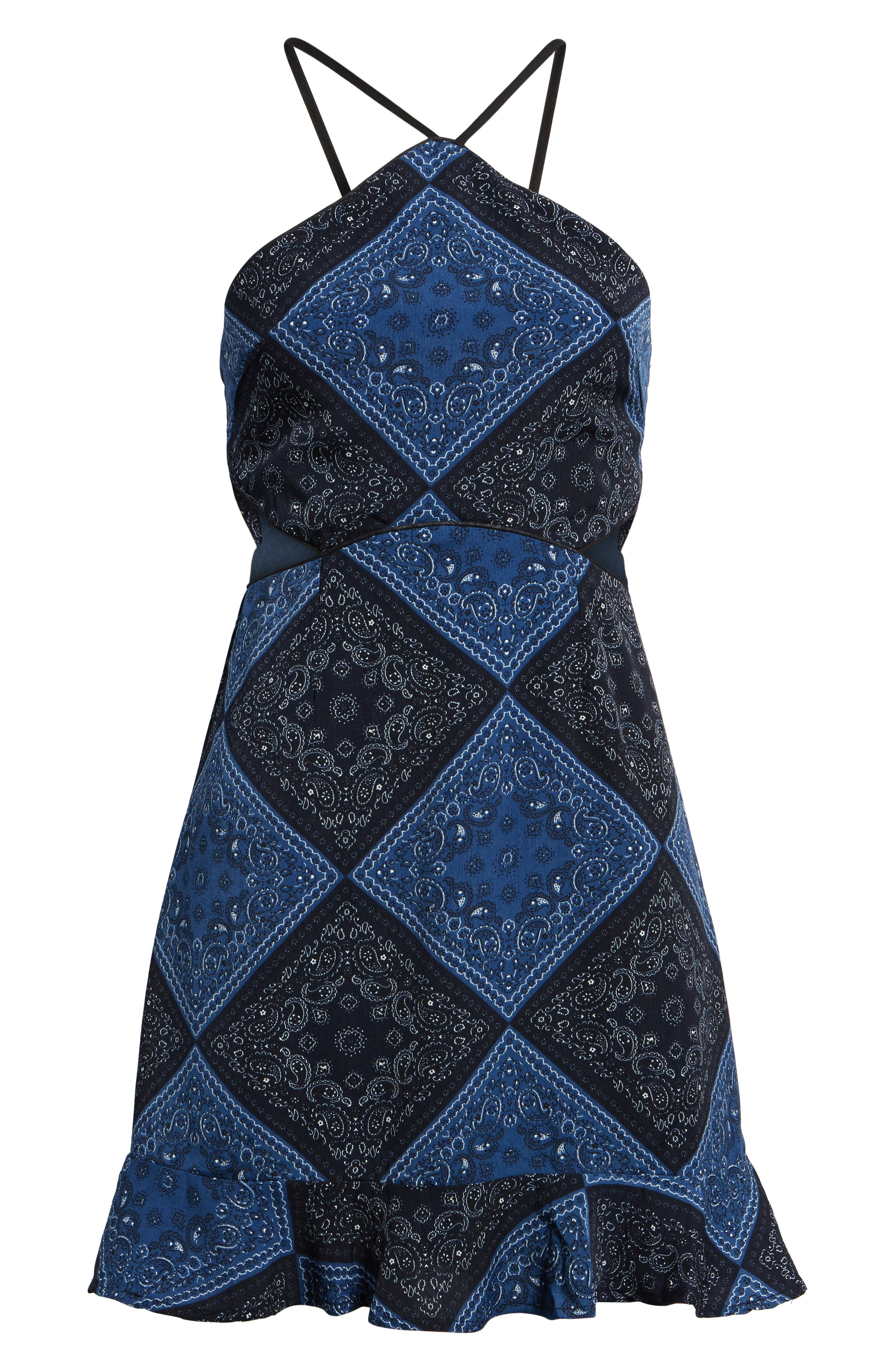 Bandana Bella Dress,                             Alternate thumbnail 6, color,                             400