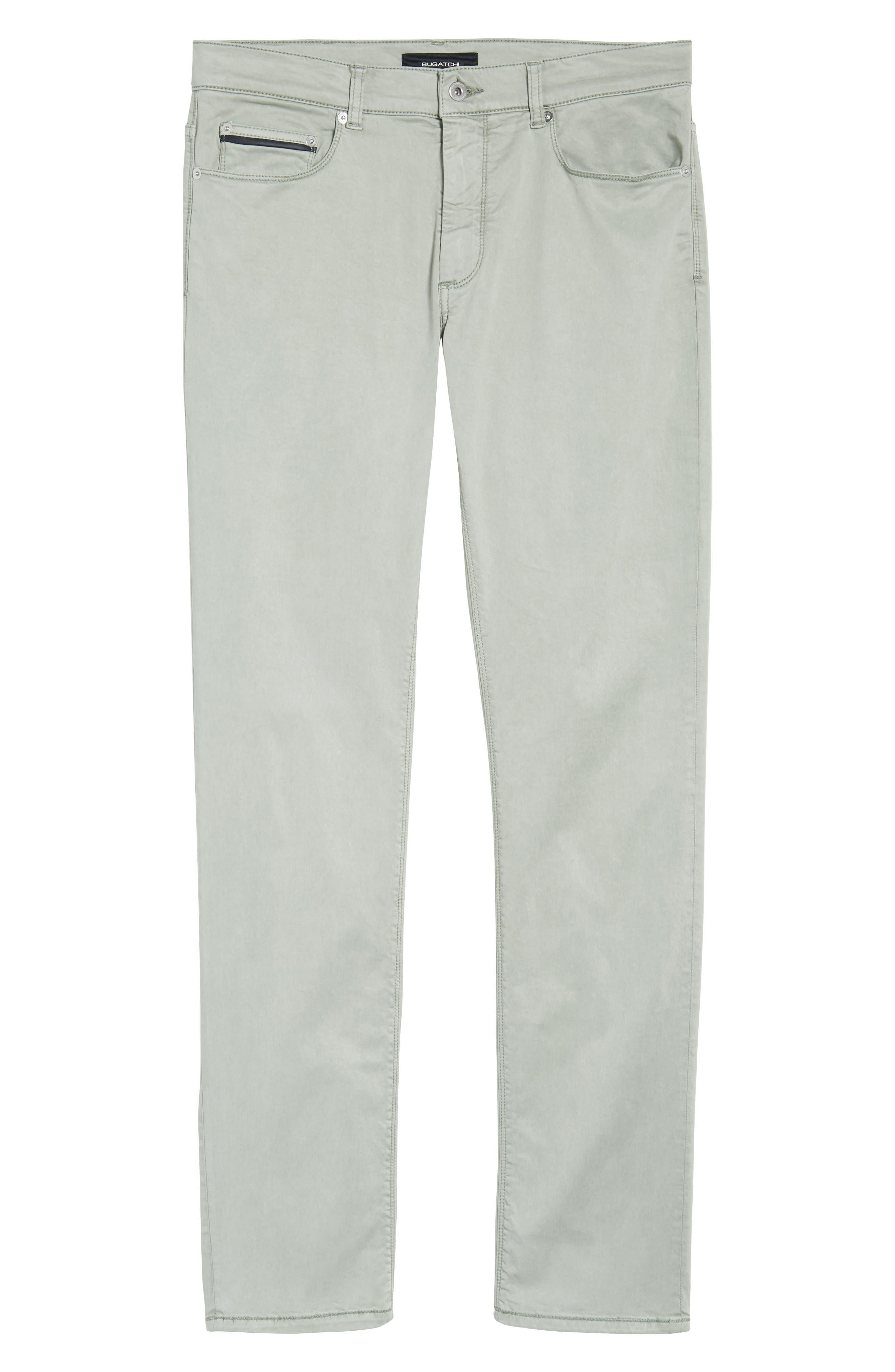 Slim Fit Washed Five-Pocket Pants,                             Alternate thumbnail 22, color,