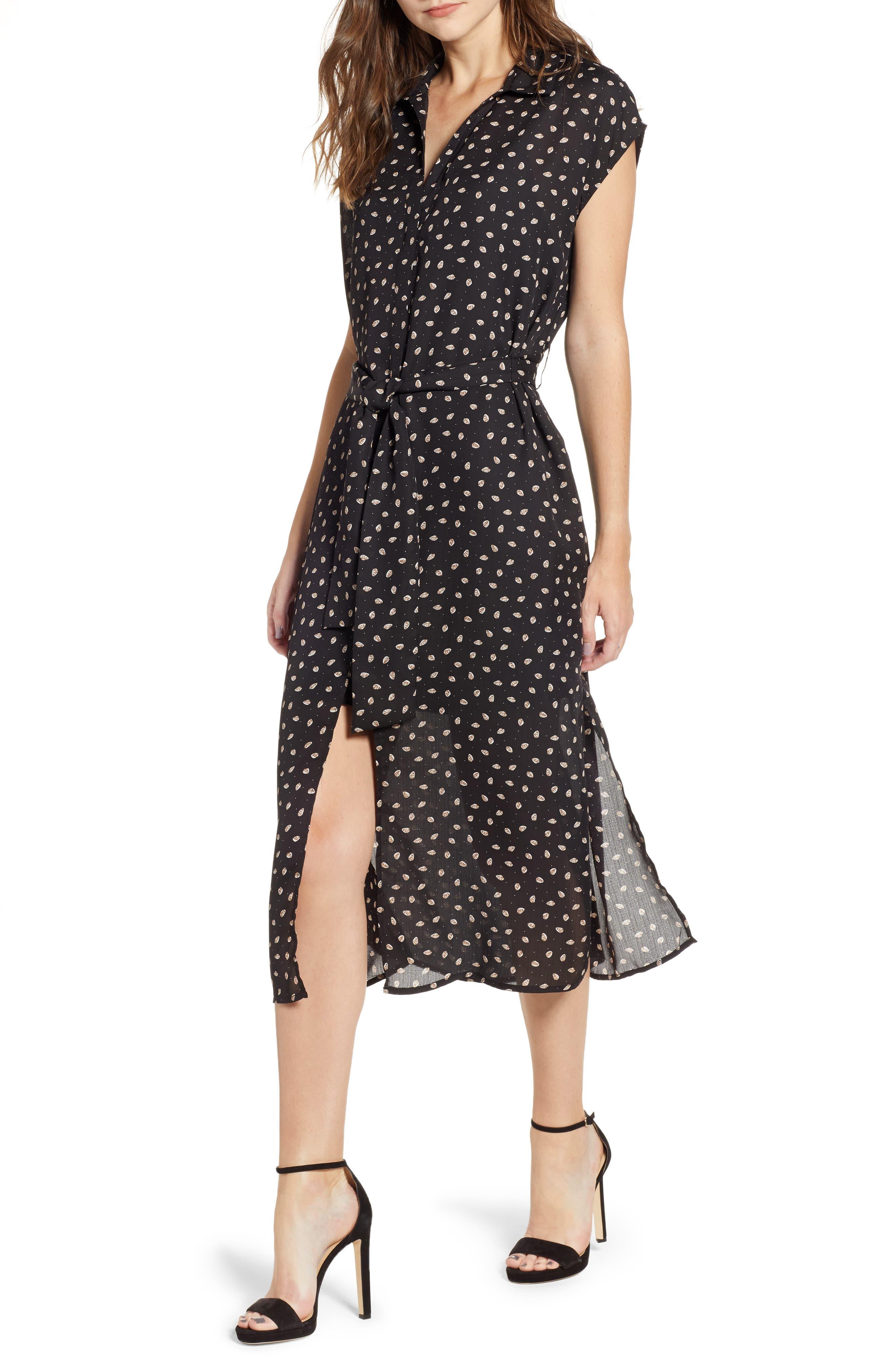 Bishop + Young Soho Midi Dress,                             Main thumbnail 1, color,                             PRINT