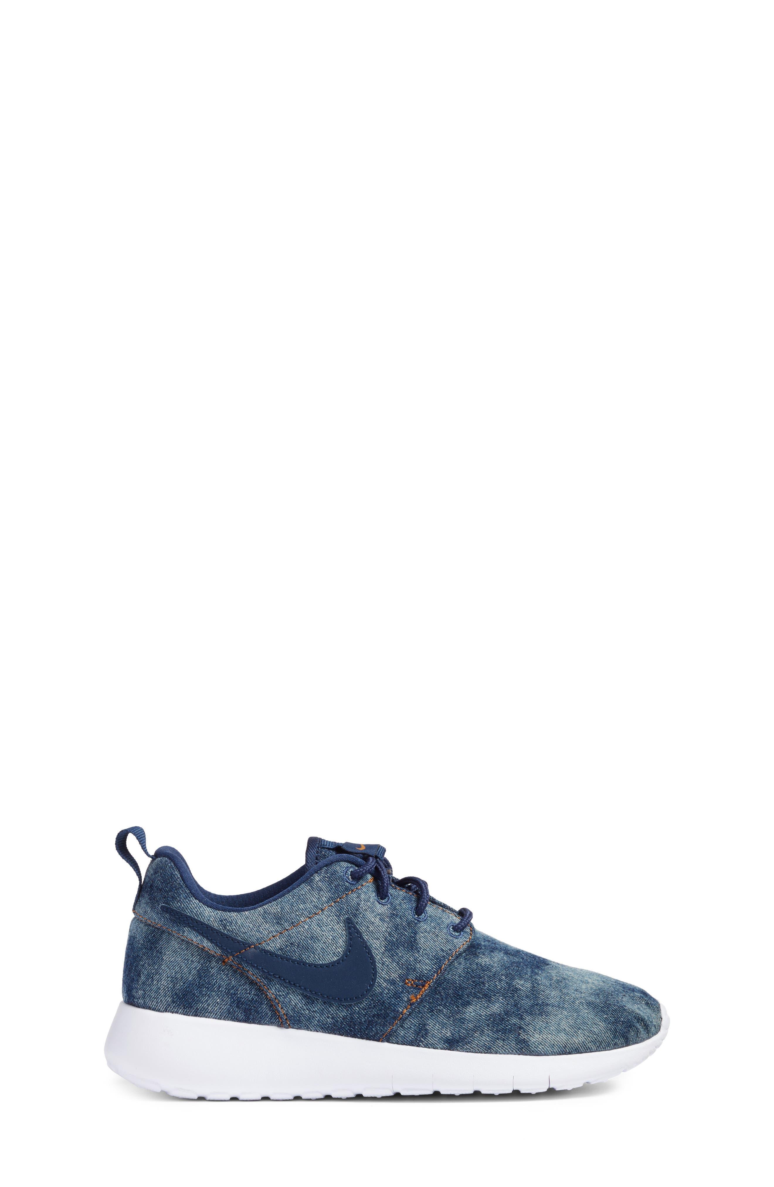 Roshe One SE Sneaker,                             Alternate thumbnail 3, color,                             400