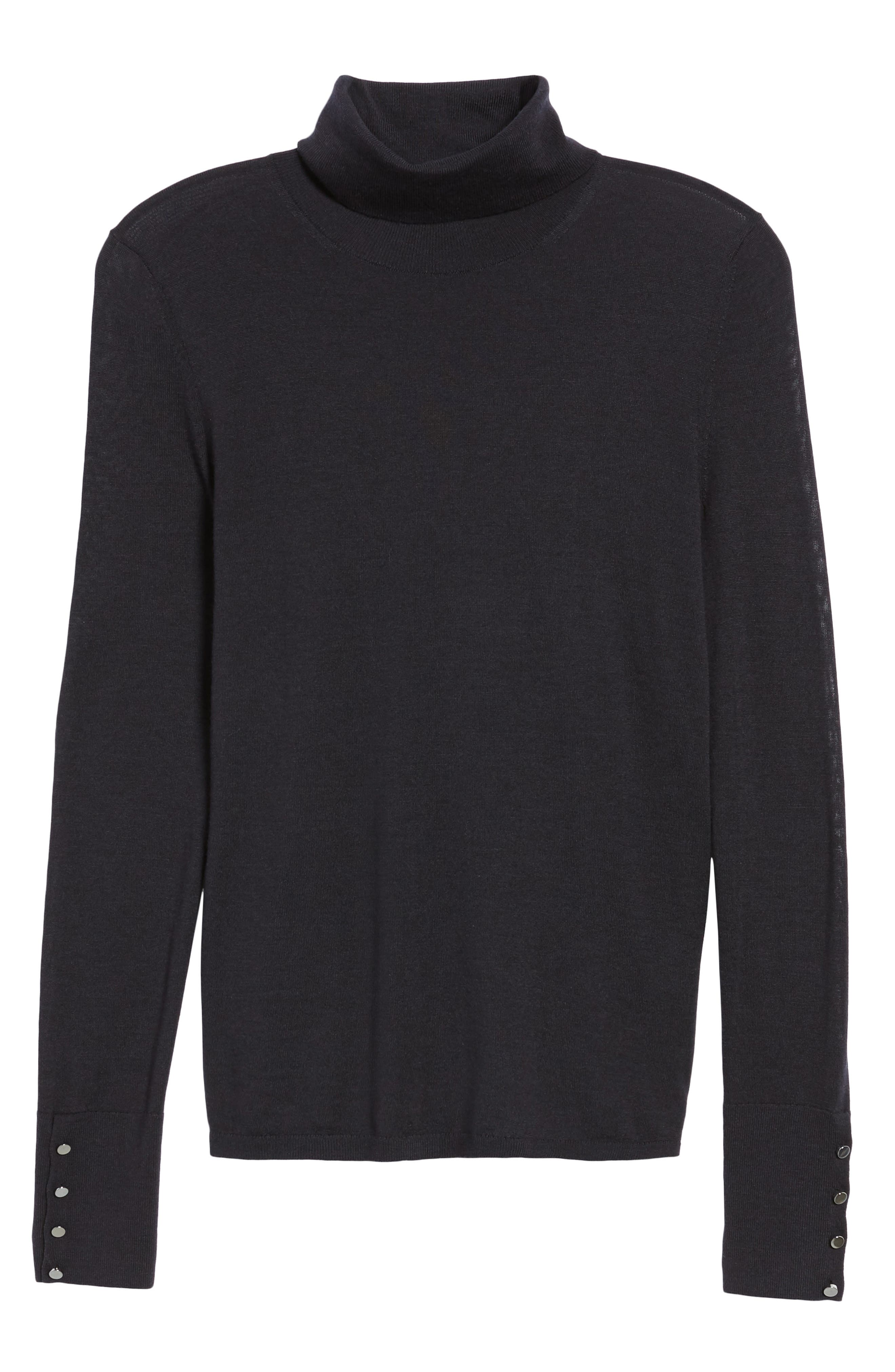Farrella Wool Turtleneck Sweater,                             Alternate thumbnail 6, color,                             480