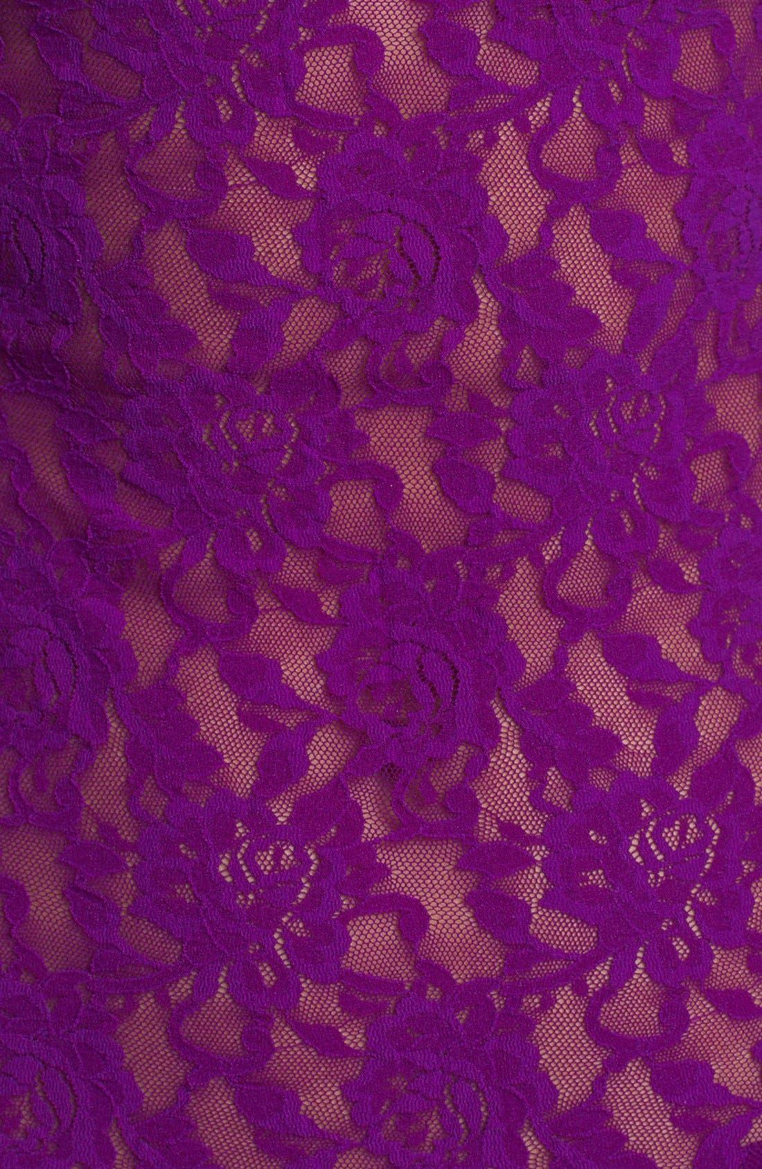 'Signature Lace' Boyshorts,                             Alternate thumbnail 406, color,