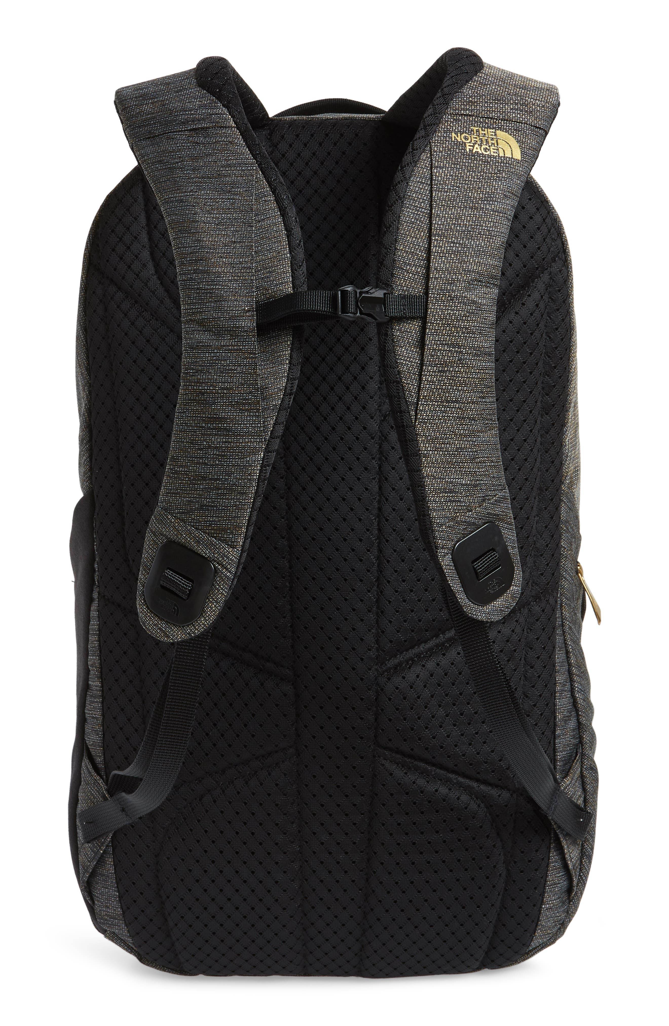 'Isabella' Backpack,                             Alternate thumbnail 3, color,                             TNF BLACK BRASS MELANGE