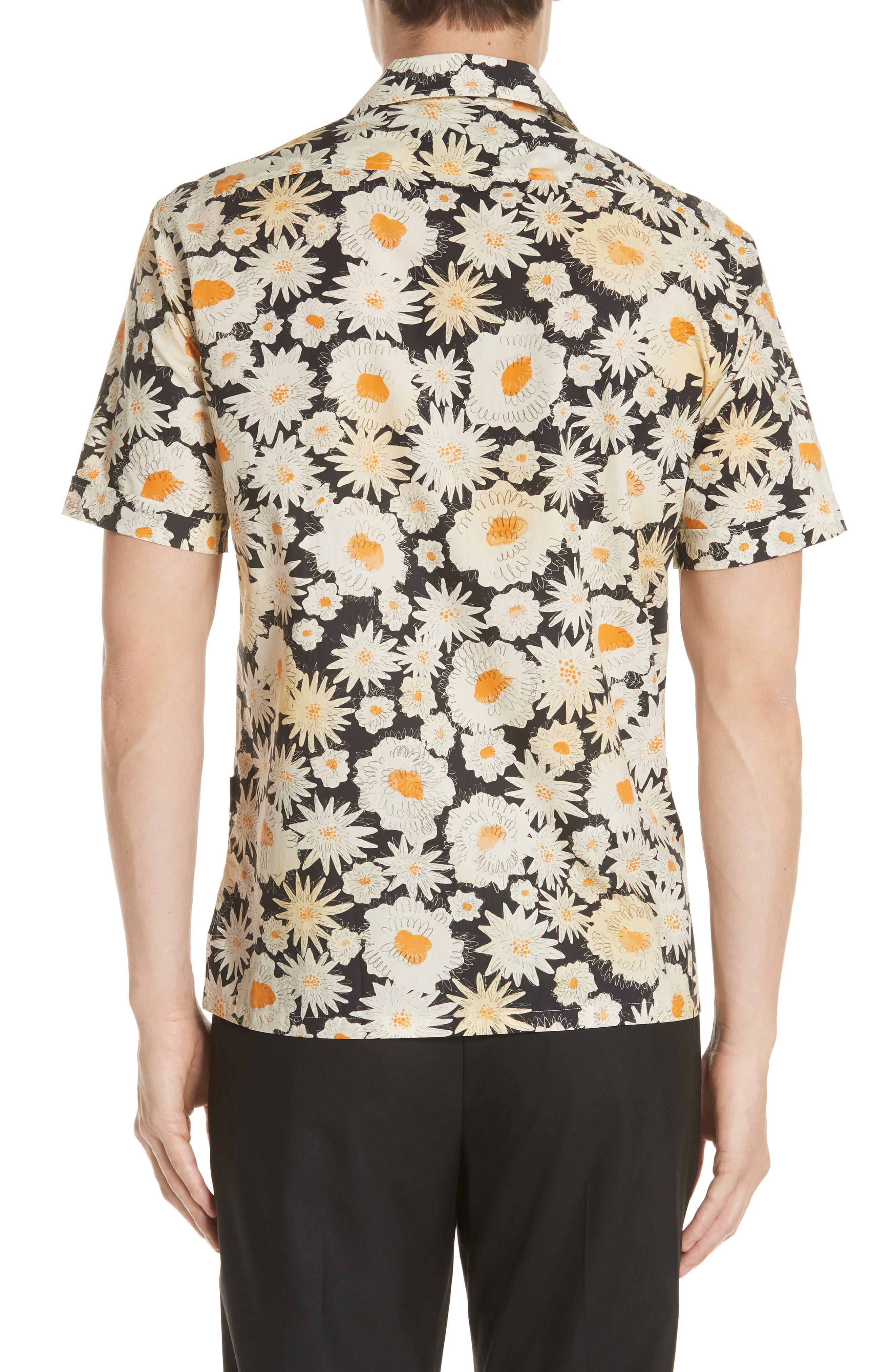 Jude Floral Print Shirt,                             Alternate thumbnail 2, color,                             001