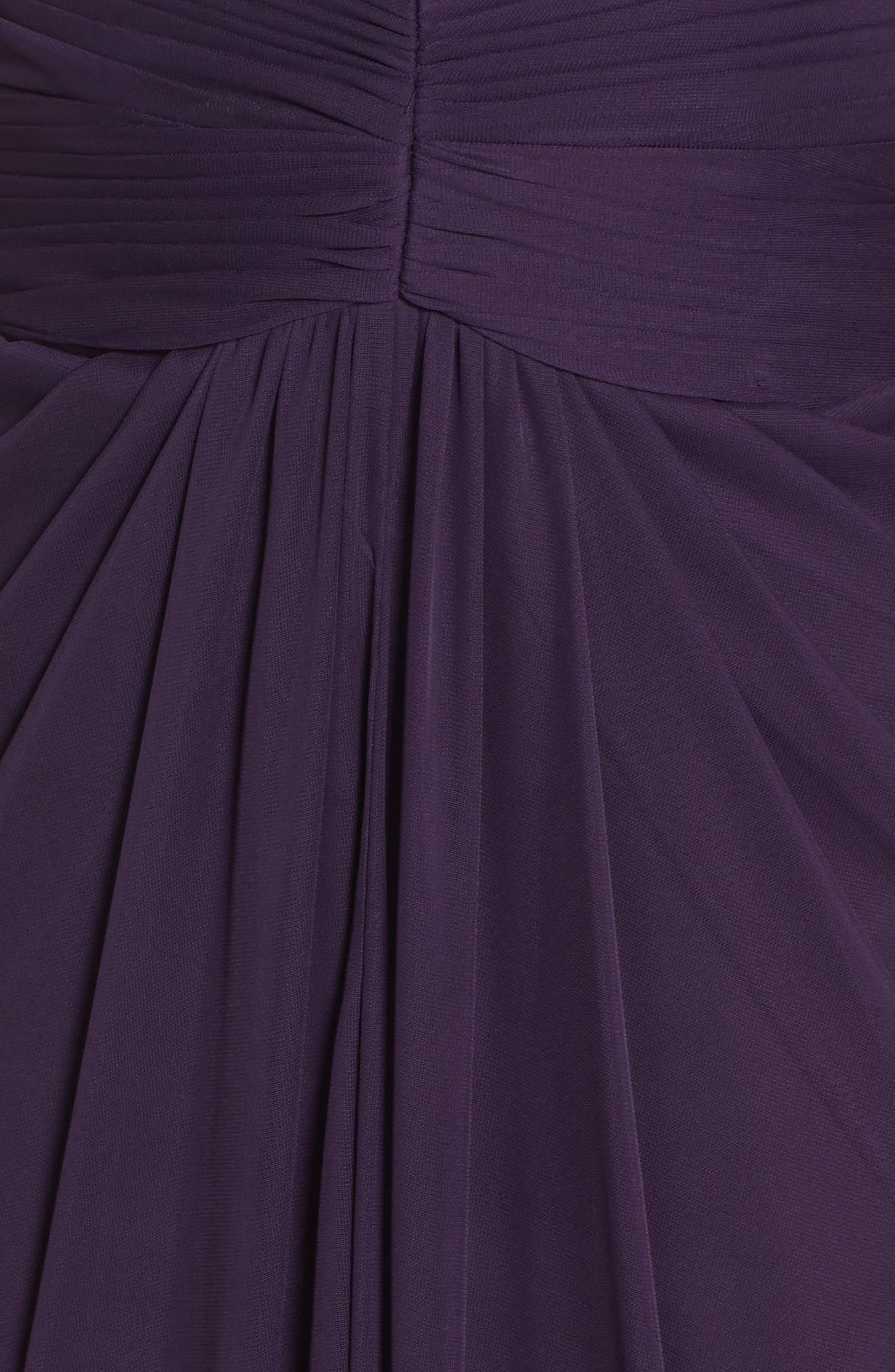 Lace Yoke Drape Gown,                             Alternate thumbnail 13, color,