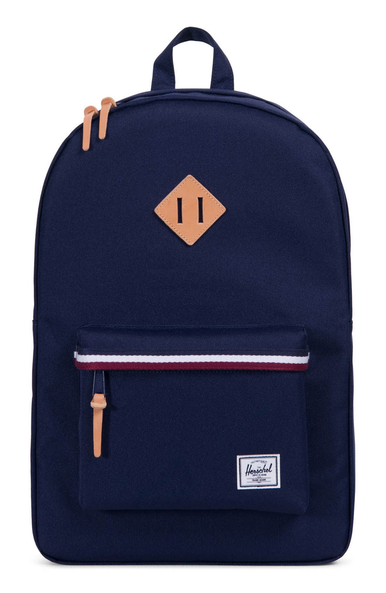 Heritage Offset Stripe Backpack,                             Main thumbnail 3, color,