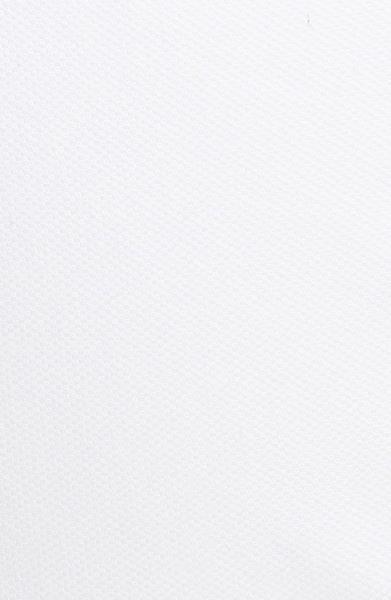 Slim Fit Five Pocket Pants,                             Alternate thumbnail 5, color,                             WHITE
