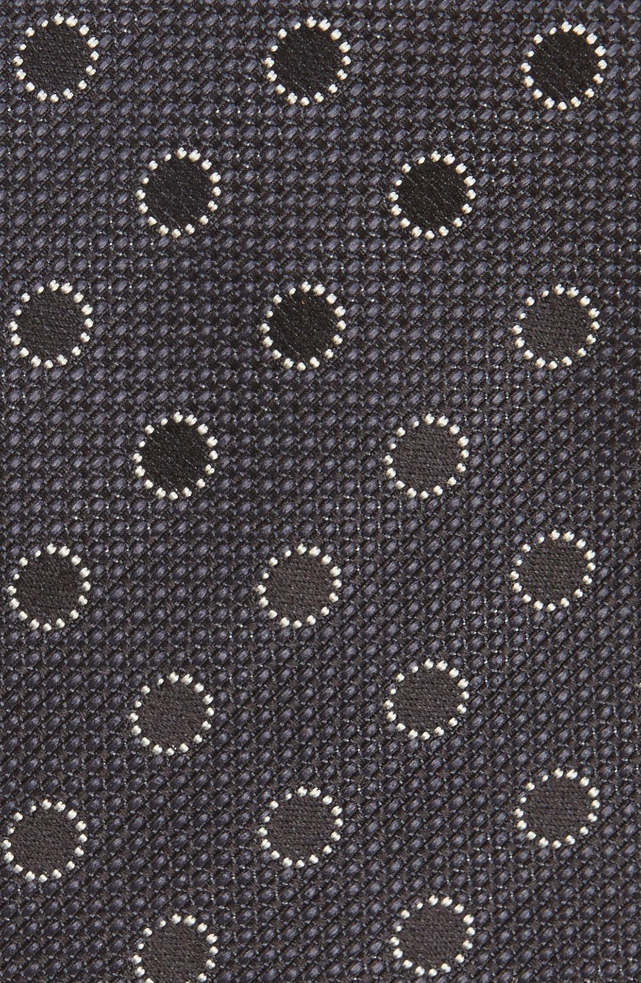 Dot Silk Tie,                             Alternate thumbnail 2, color,                             201