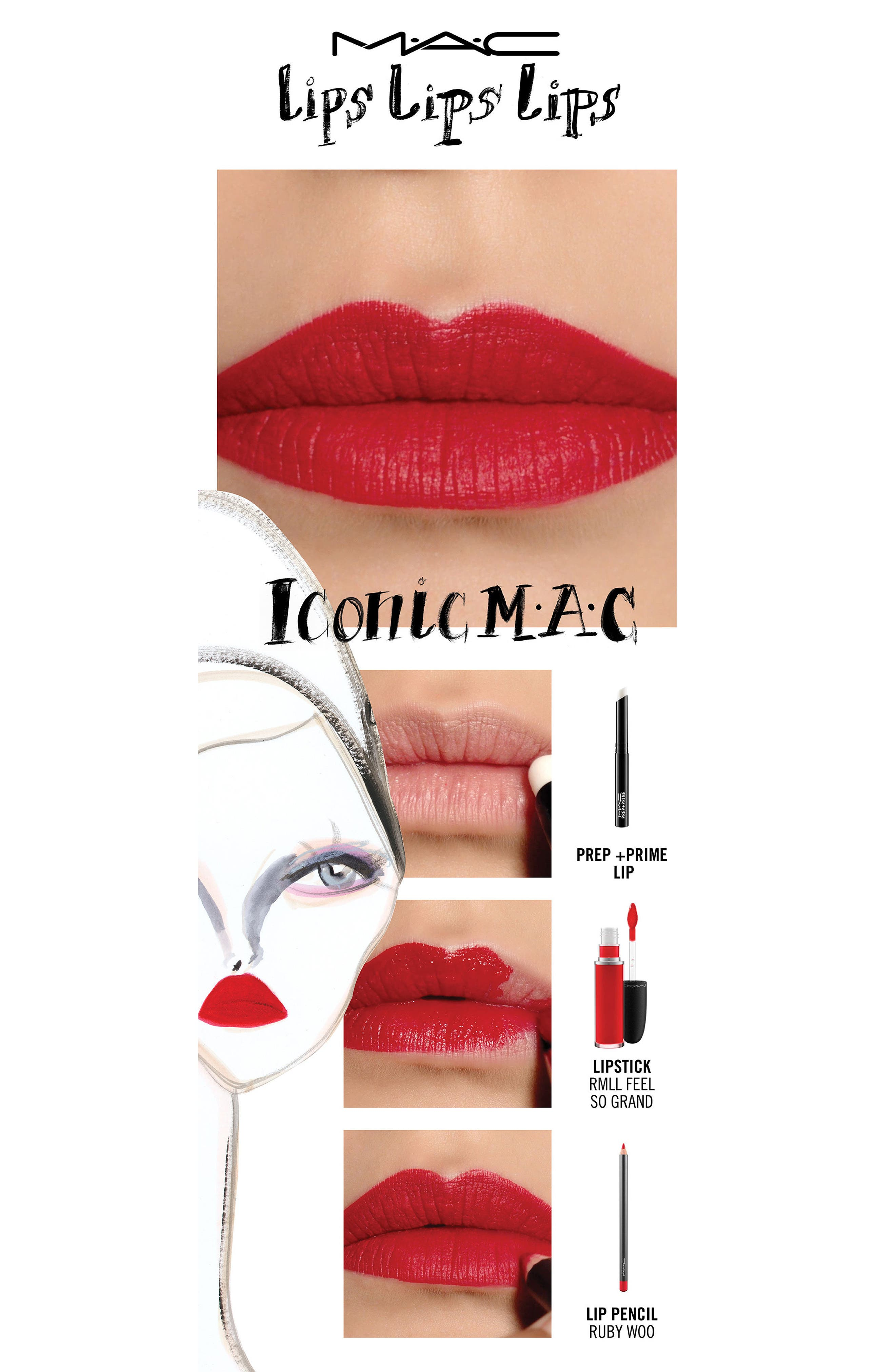 MAC Prep + Prime Lip,                             Alternate thumbnail 5, color,                             NO COLOR