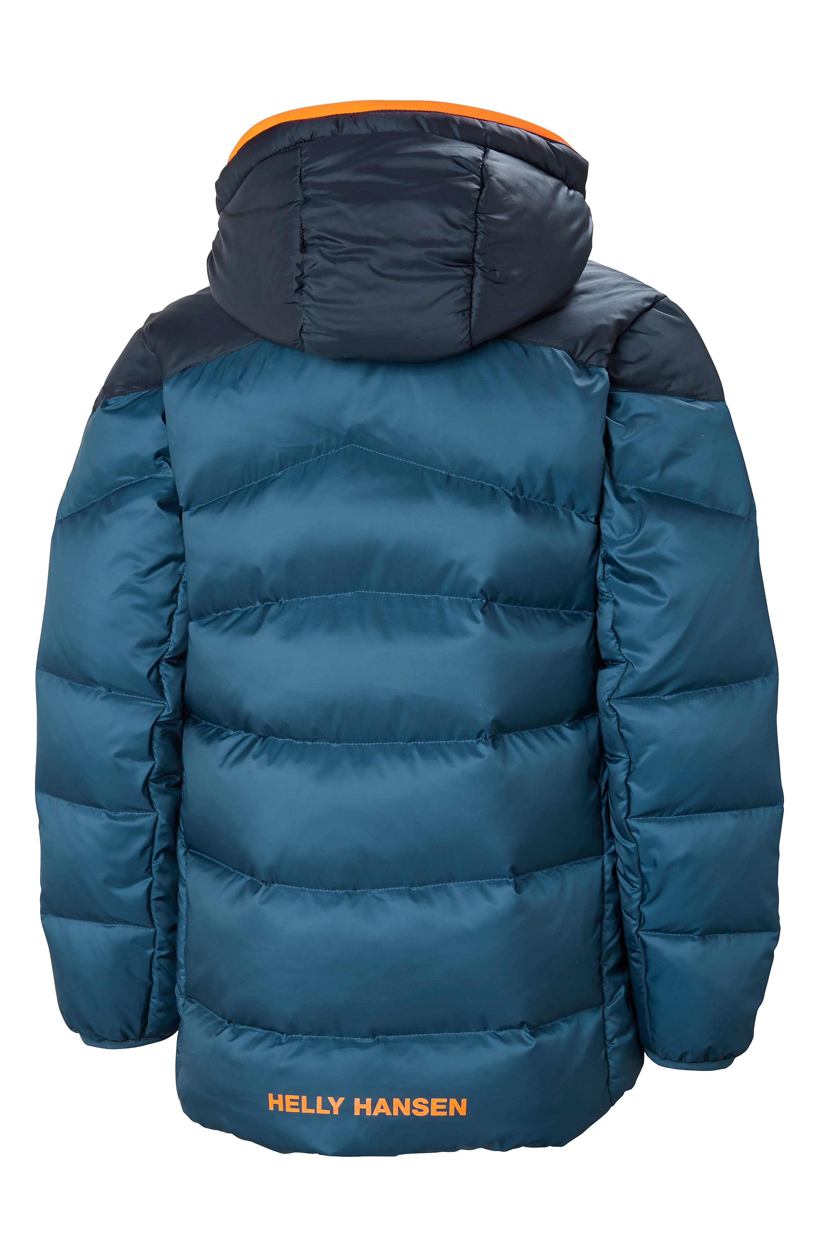 Fjord Water Resistant Puffer Jacket,                             Alternate thumbnail 2, color,                             DARK TEAL