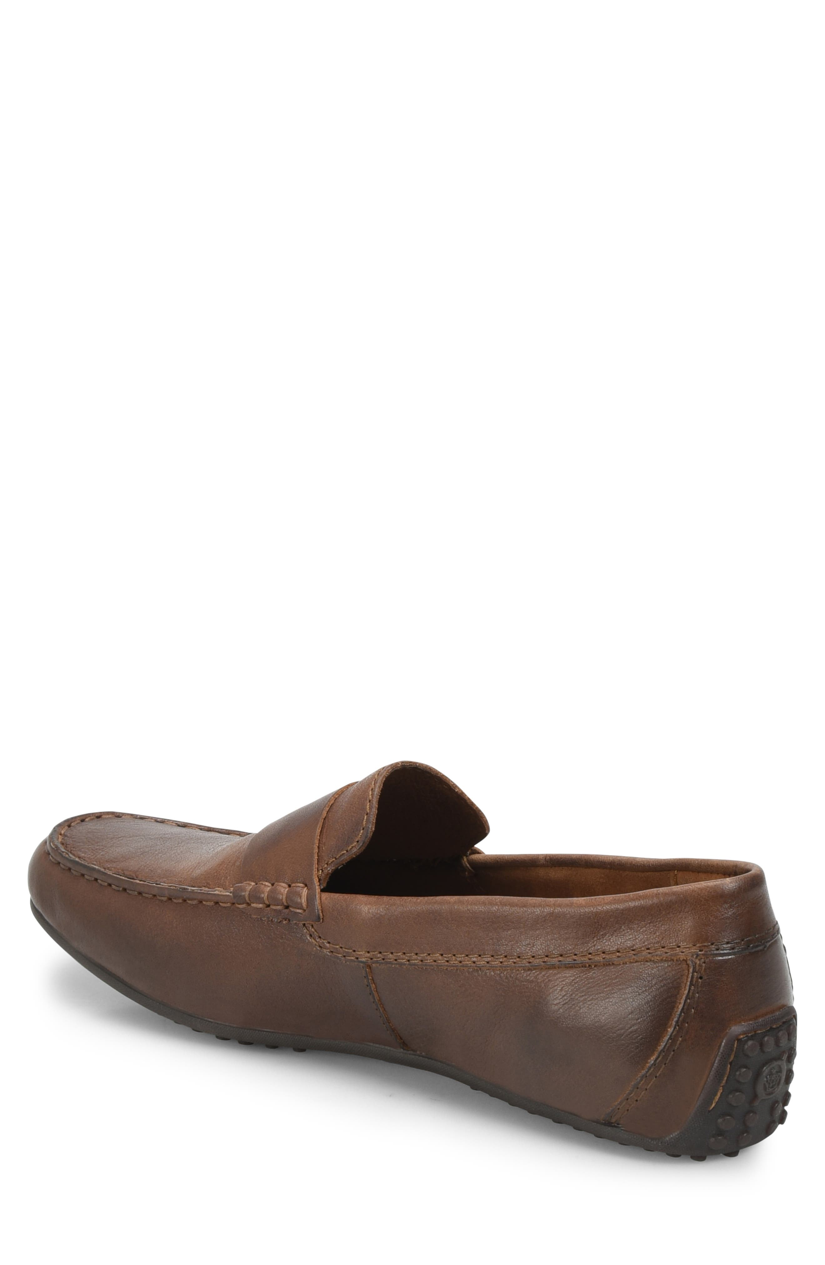 Ratner Driving Loafer,                             Alternate thumbnail 2, color,                             BROWN LEATHER