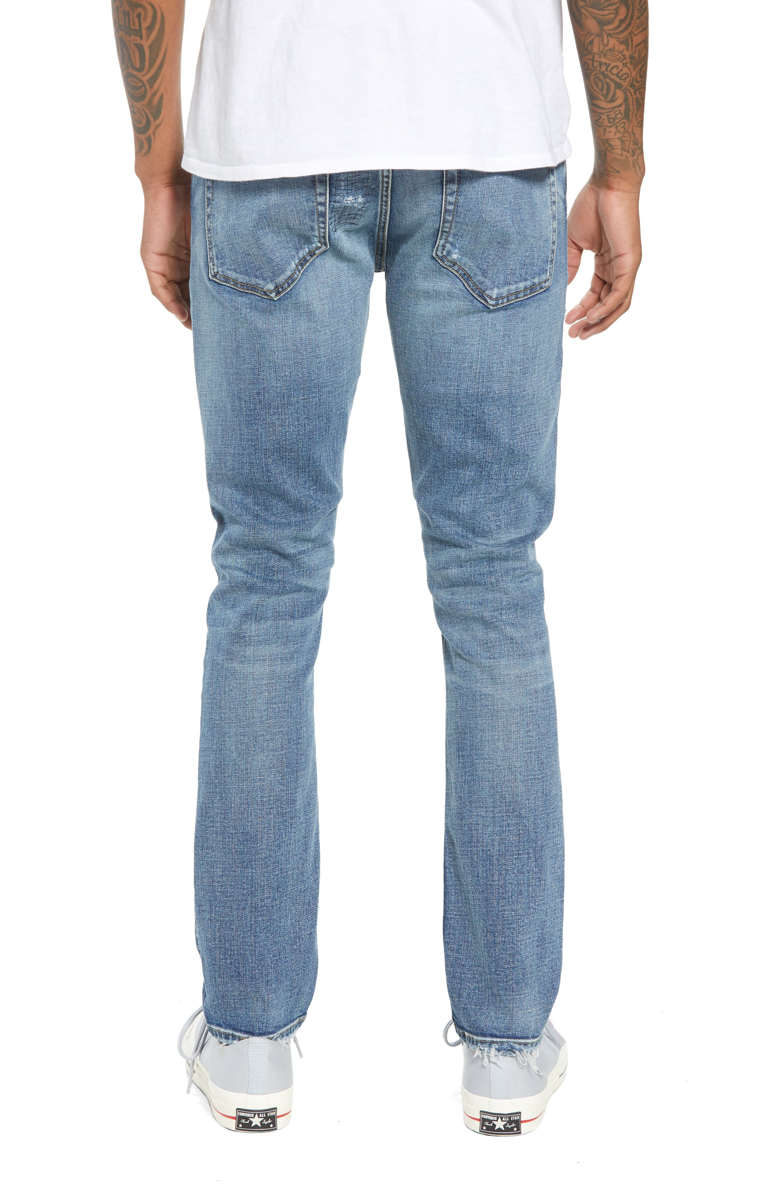 Wooster Slim Fit Jeans,                             Alternate thumbnail 2, color,                             LION NIGHT