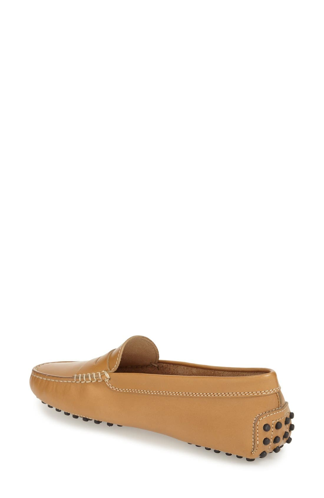 TOD'S,                             'Gommini' Driving Moccasin,                             Alternate thumbnail 6, color,                             BROWN