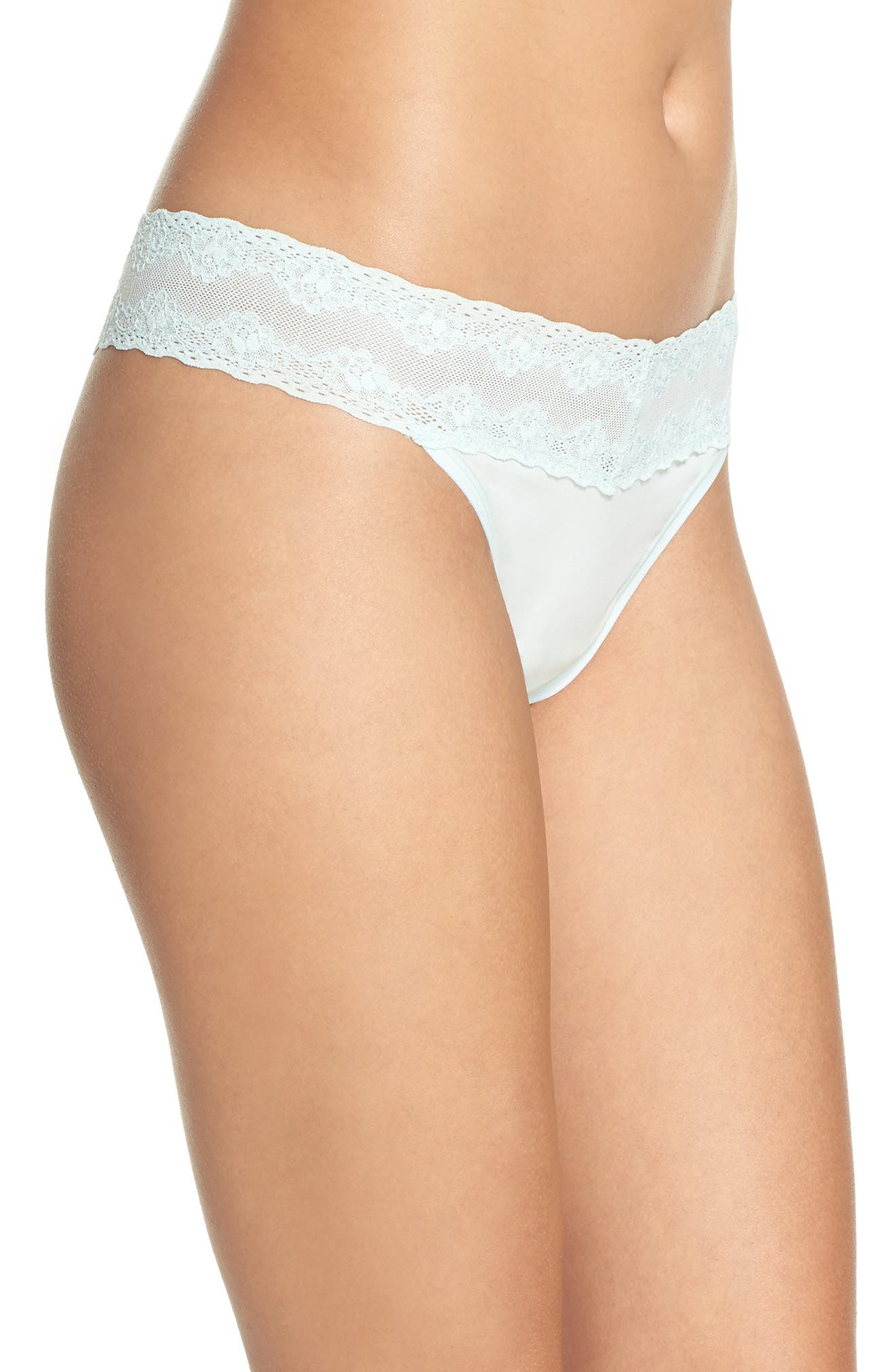 Bliss Perfection Thong,                             Alternate thumbnail 204, color,