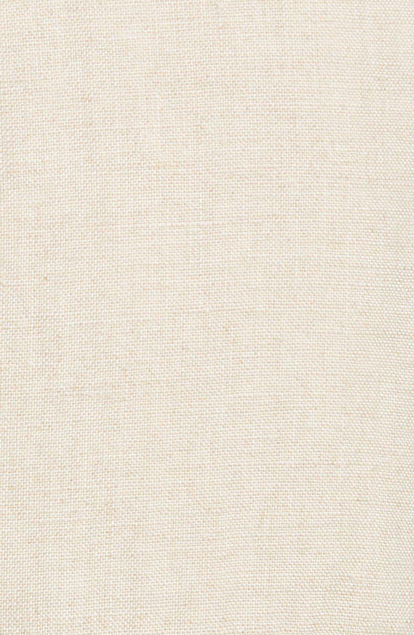 Organic Linen Crop Pants,                             Alternate thumbnail 21, color,
