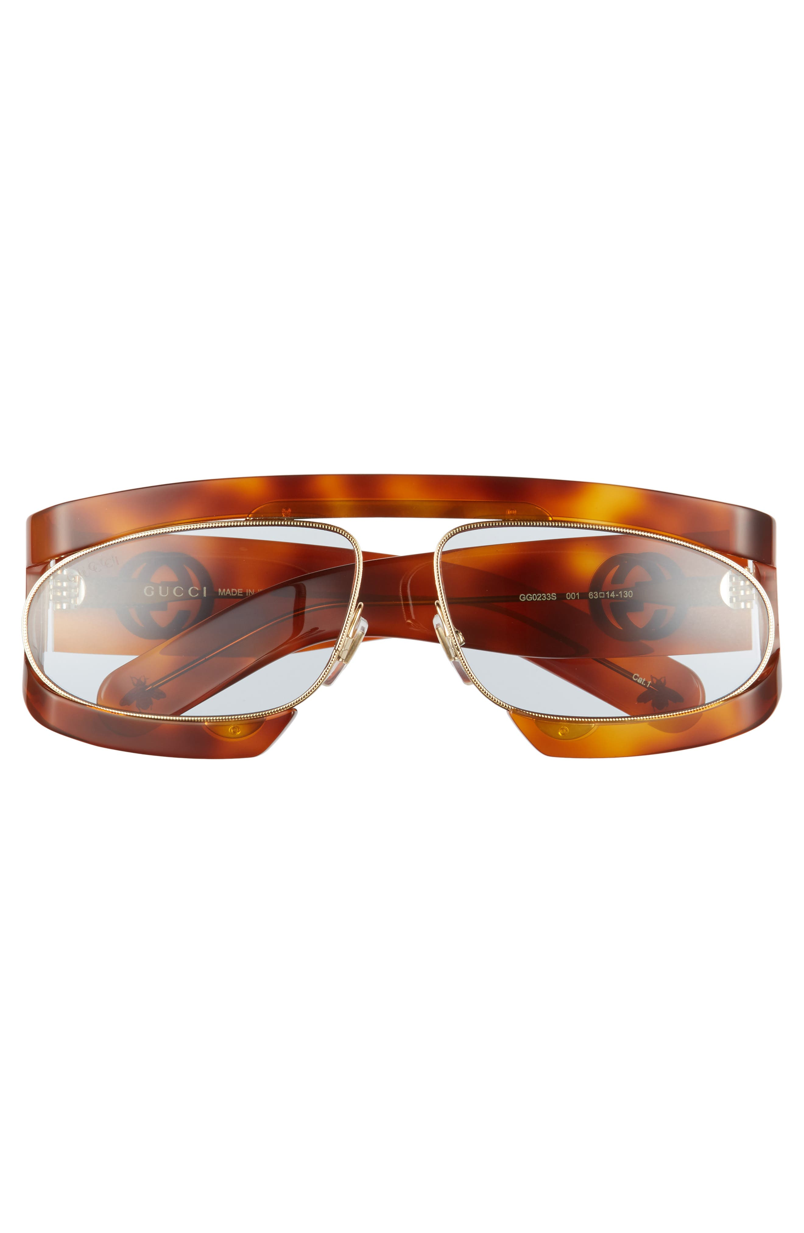 63mm Shield Glasses,                             Alternate thumbnail 3, color,                             200
