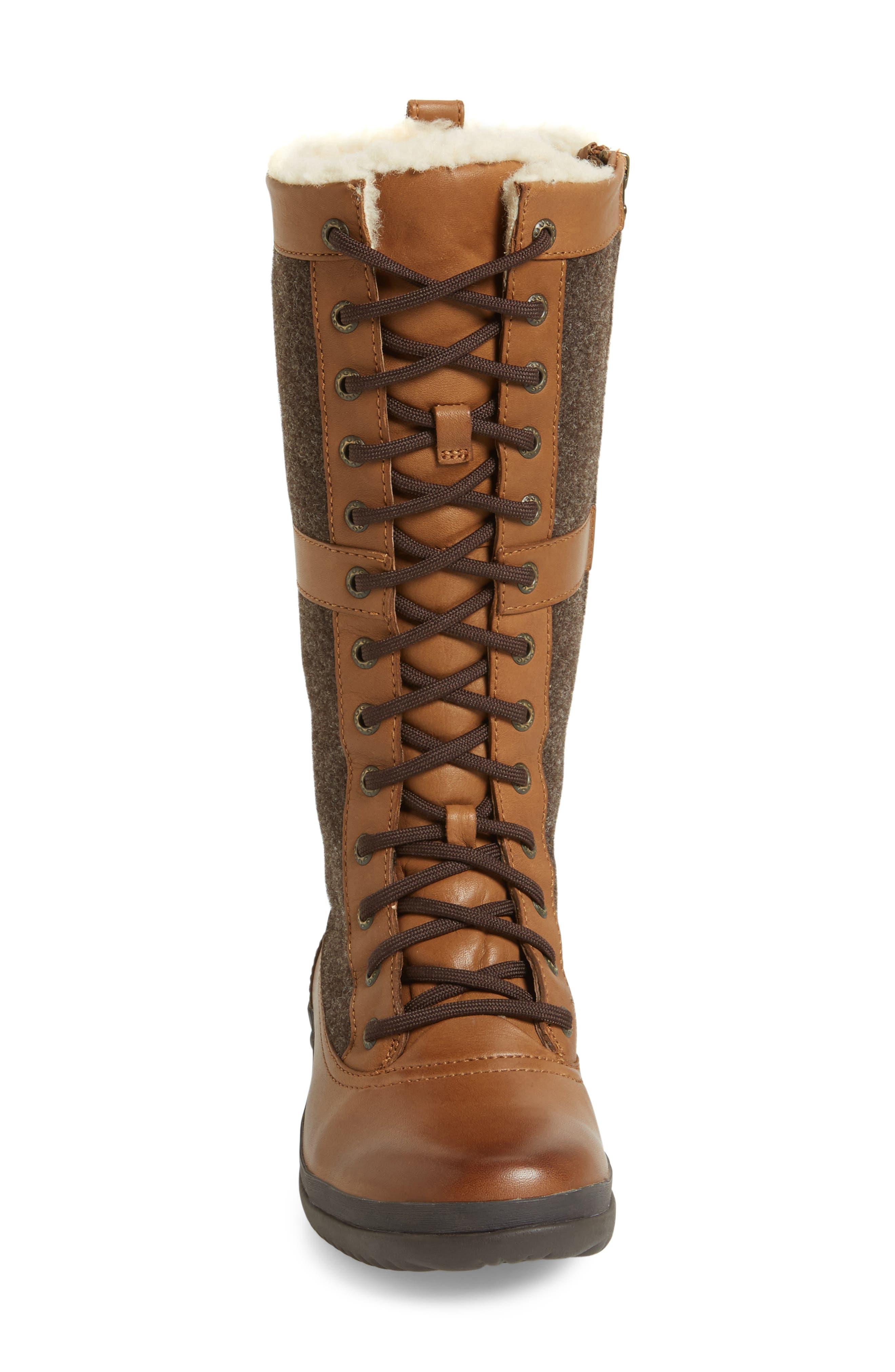 Elvia Waterproof Tall Boot,                             Alternate thumbnail 12, color,