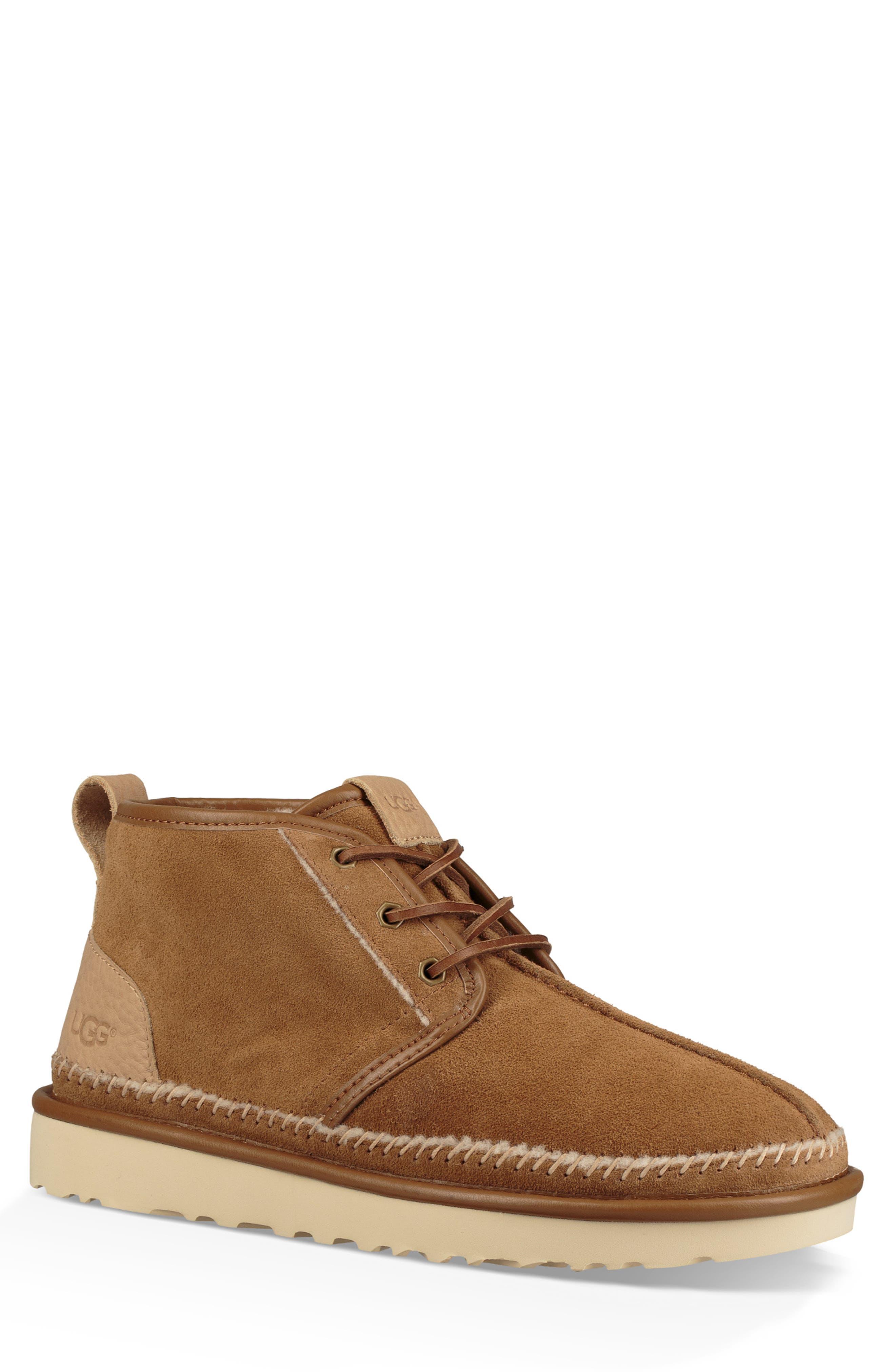 Ugg Neumel Stitch Chukka Boot, Brown