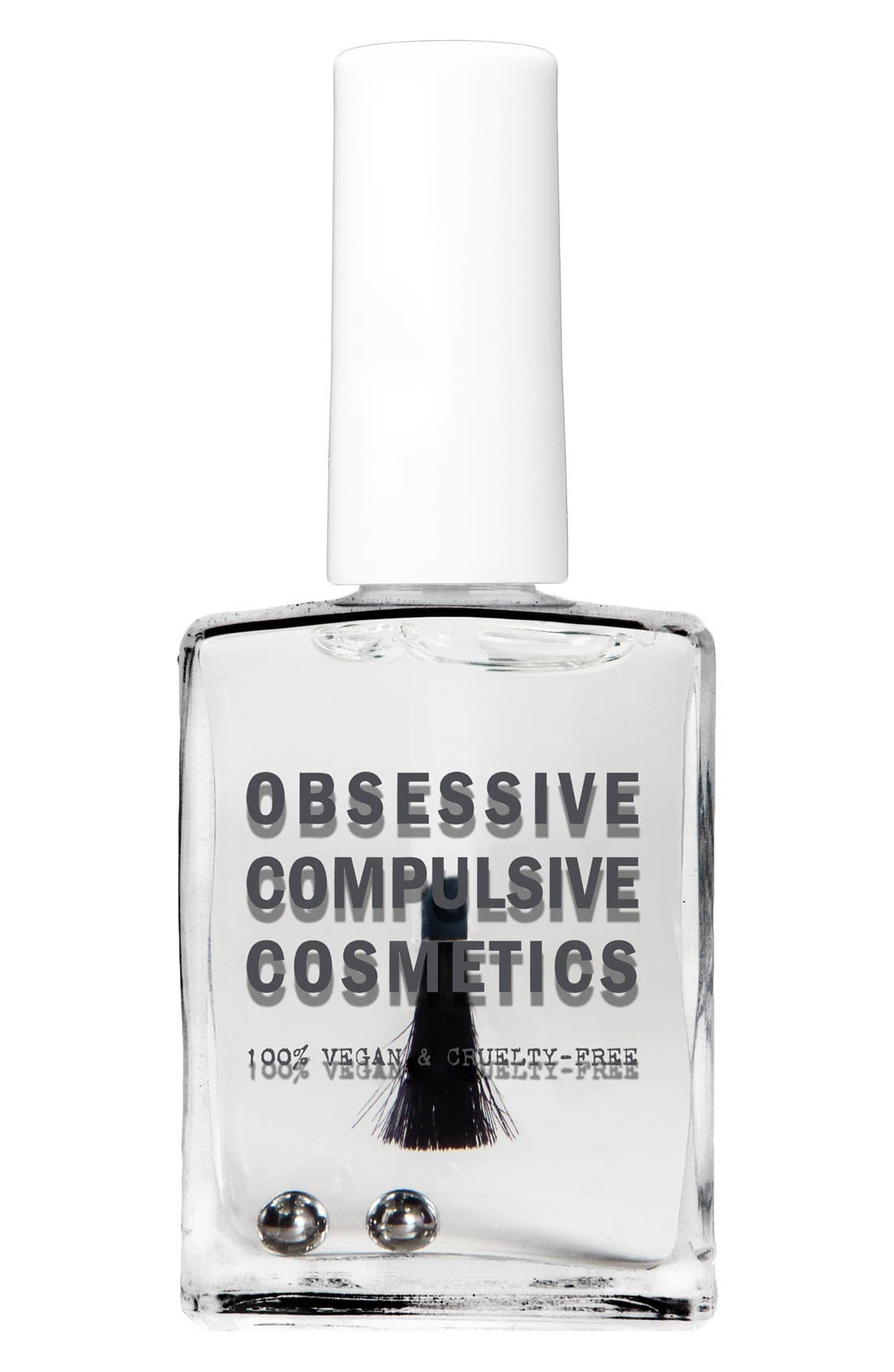 'Lacquer'd' Glossy Top Coat,                             Main thumbnail 1, color,                             000