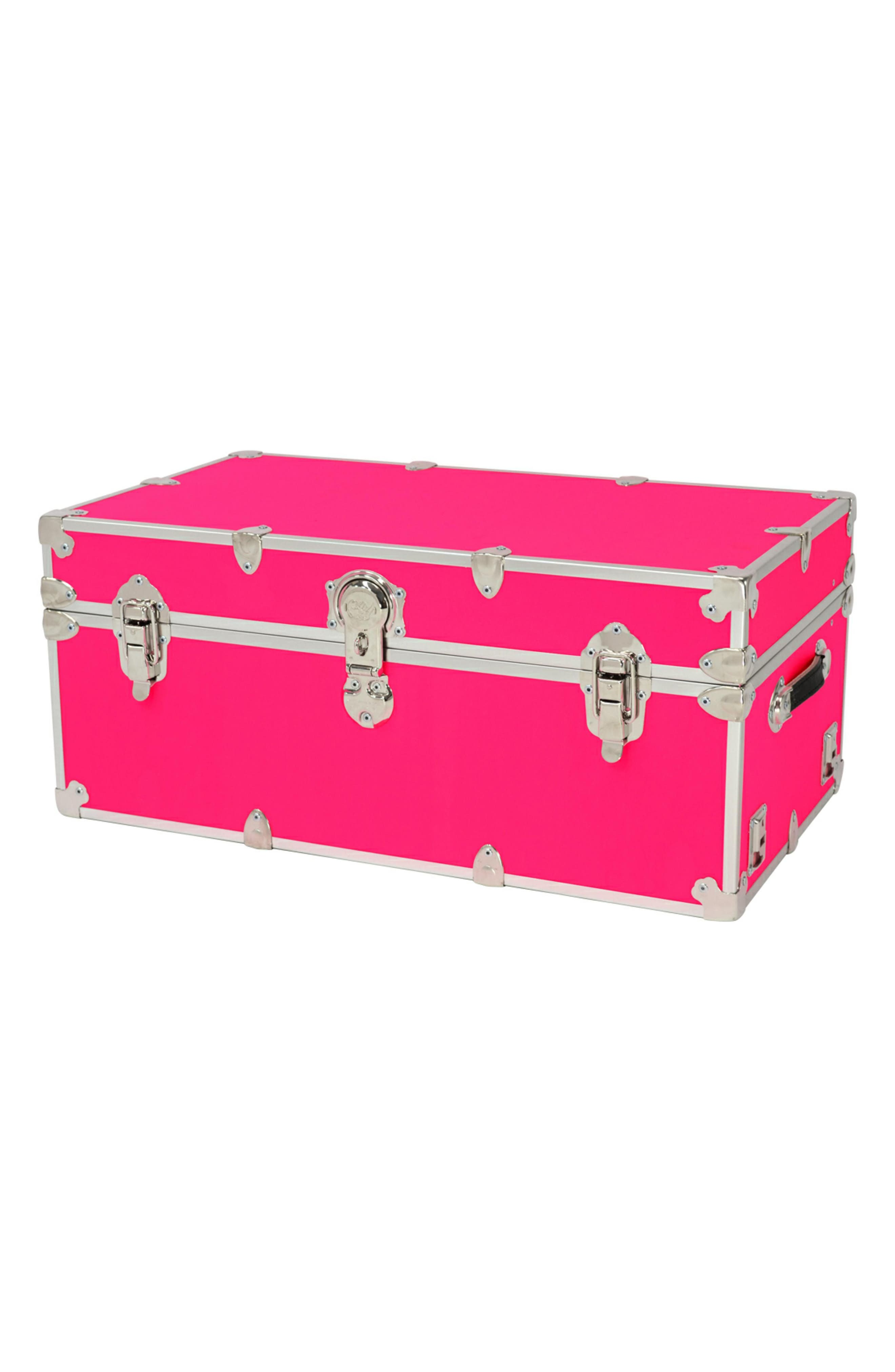 Rhino Trunk  Case Large Armor Trunk Size One Size  Pink
