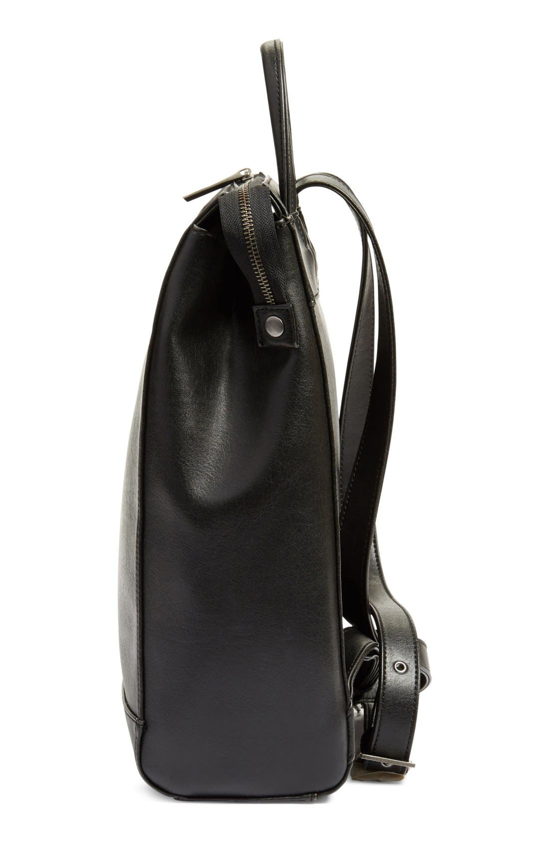 'Katherine' Faux Leather Backpack,                             Alternate thumbnail 23, color,
