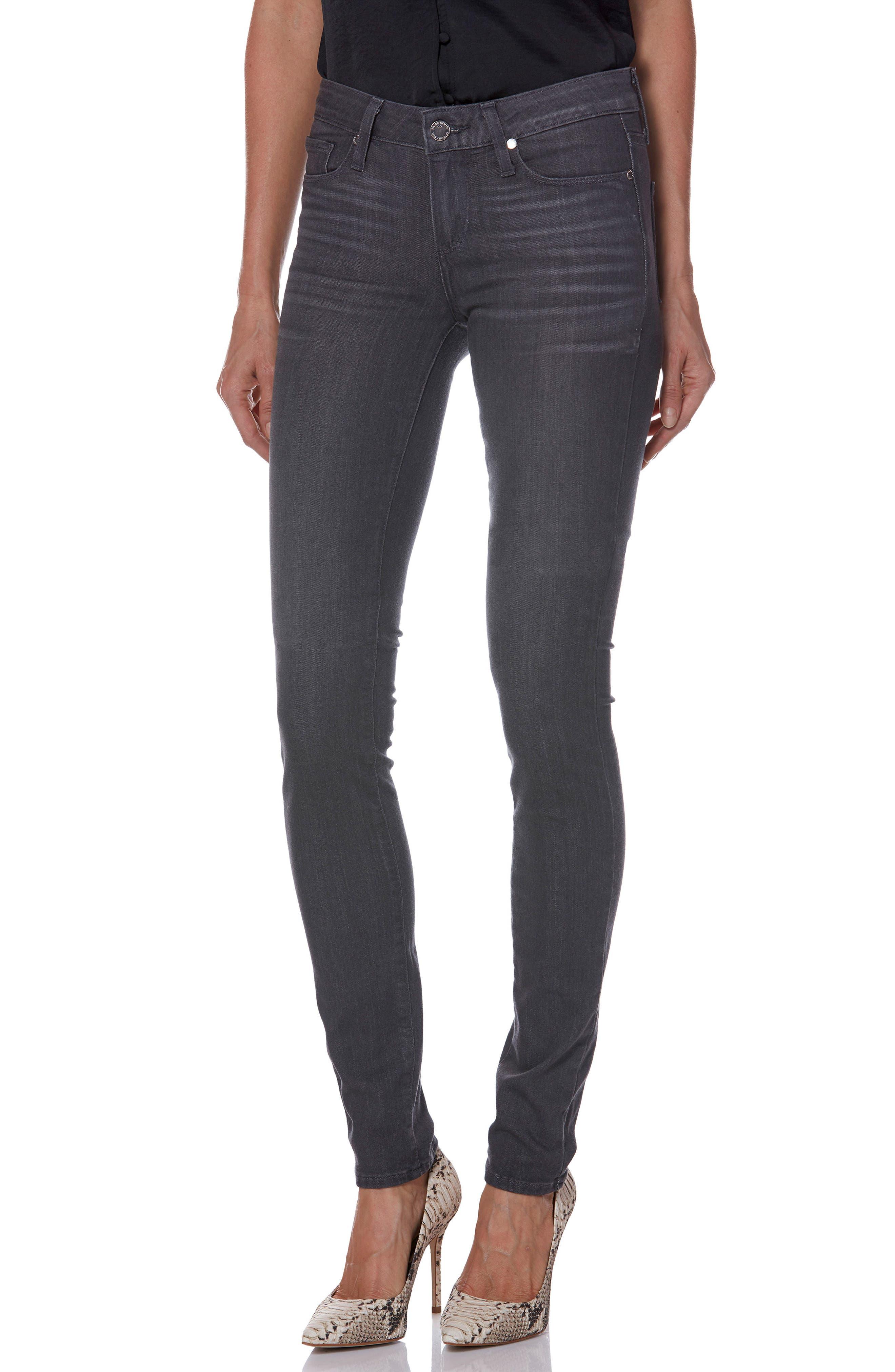 Transcend - Leggy Ultra Skinny Jeans,                         Main,                         color, GREY PEAKS