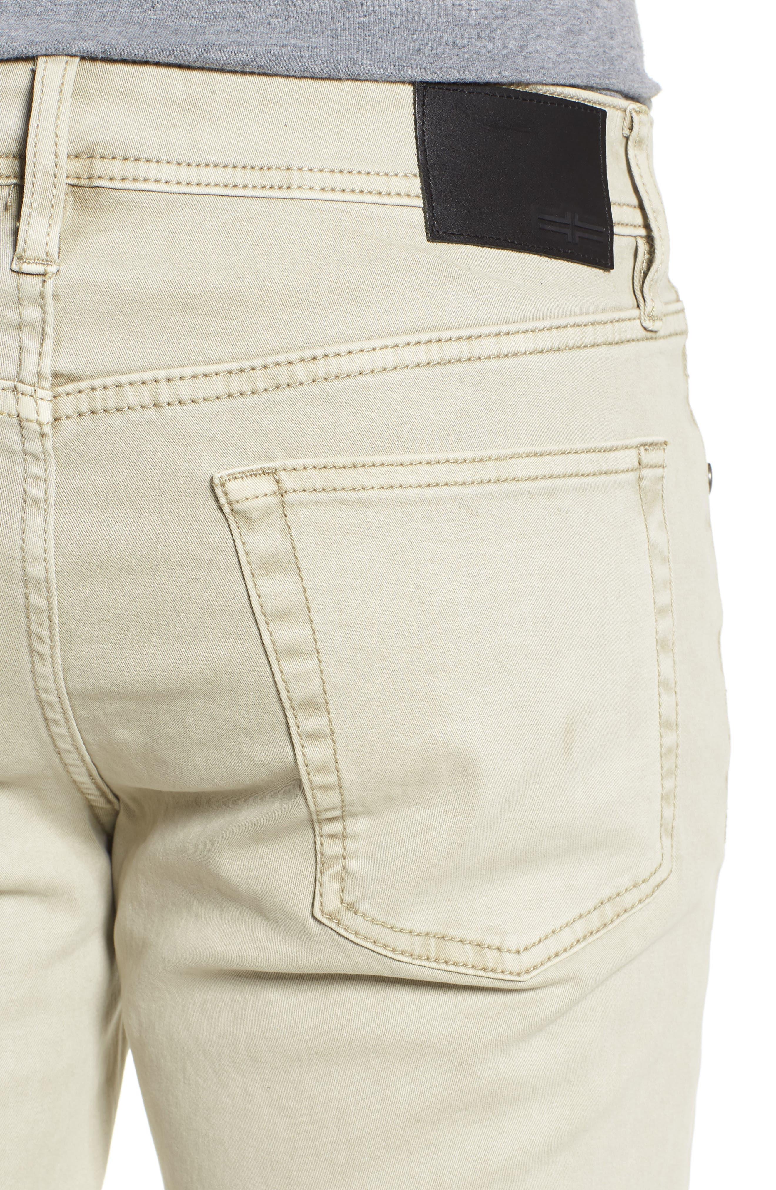 Jeans Co. Straight Leg Jeans,                             Alternate thumbnail 4, color,                             SANDSTROM