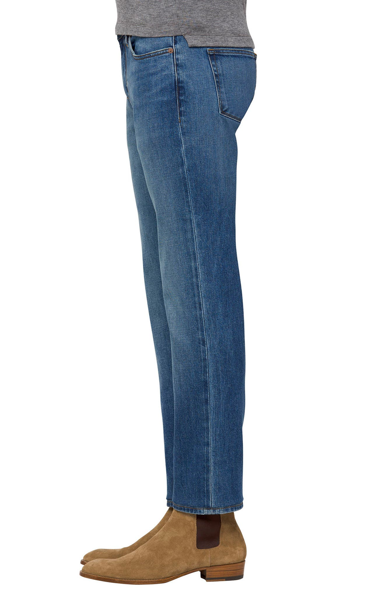 Tyler Slim Fit Jeans,                             Alternate thumbnail 3, color,                             HAMMERHEAD