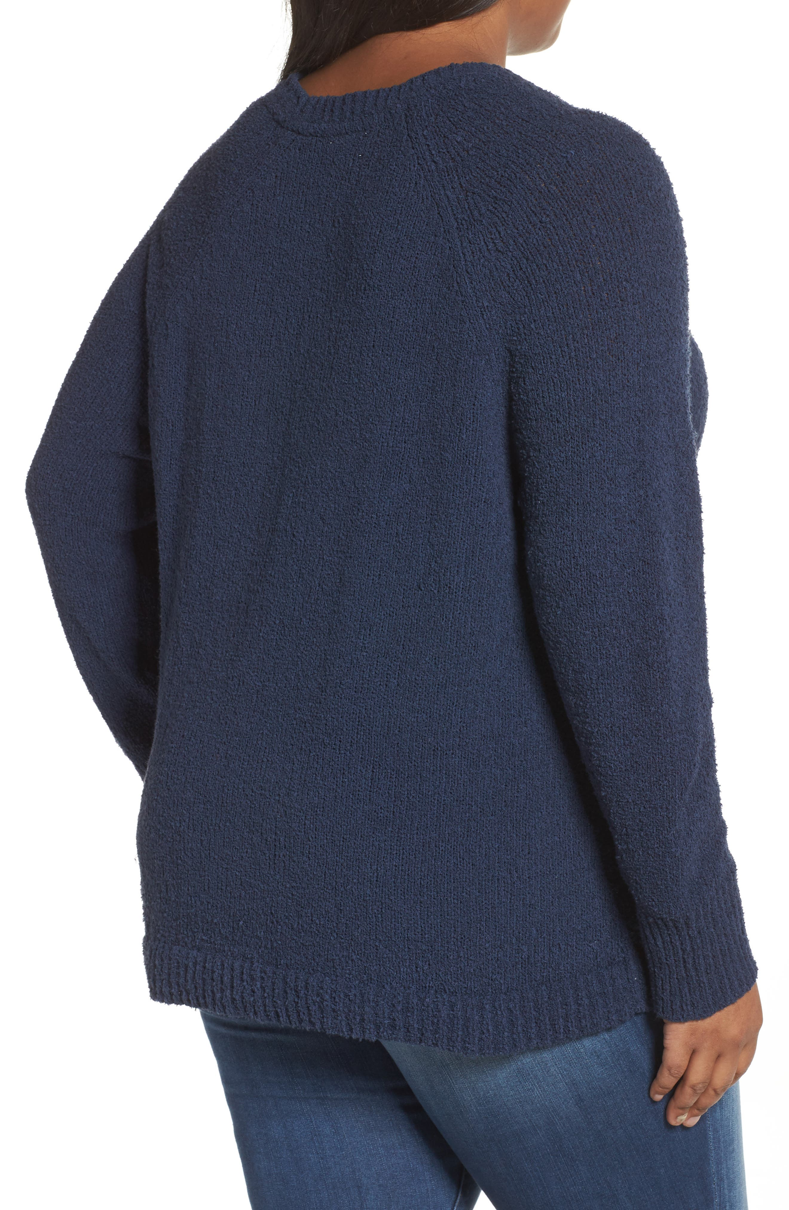 Relaxed Crewneck Sweater,                             Alternate thumbnail 6, color,