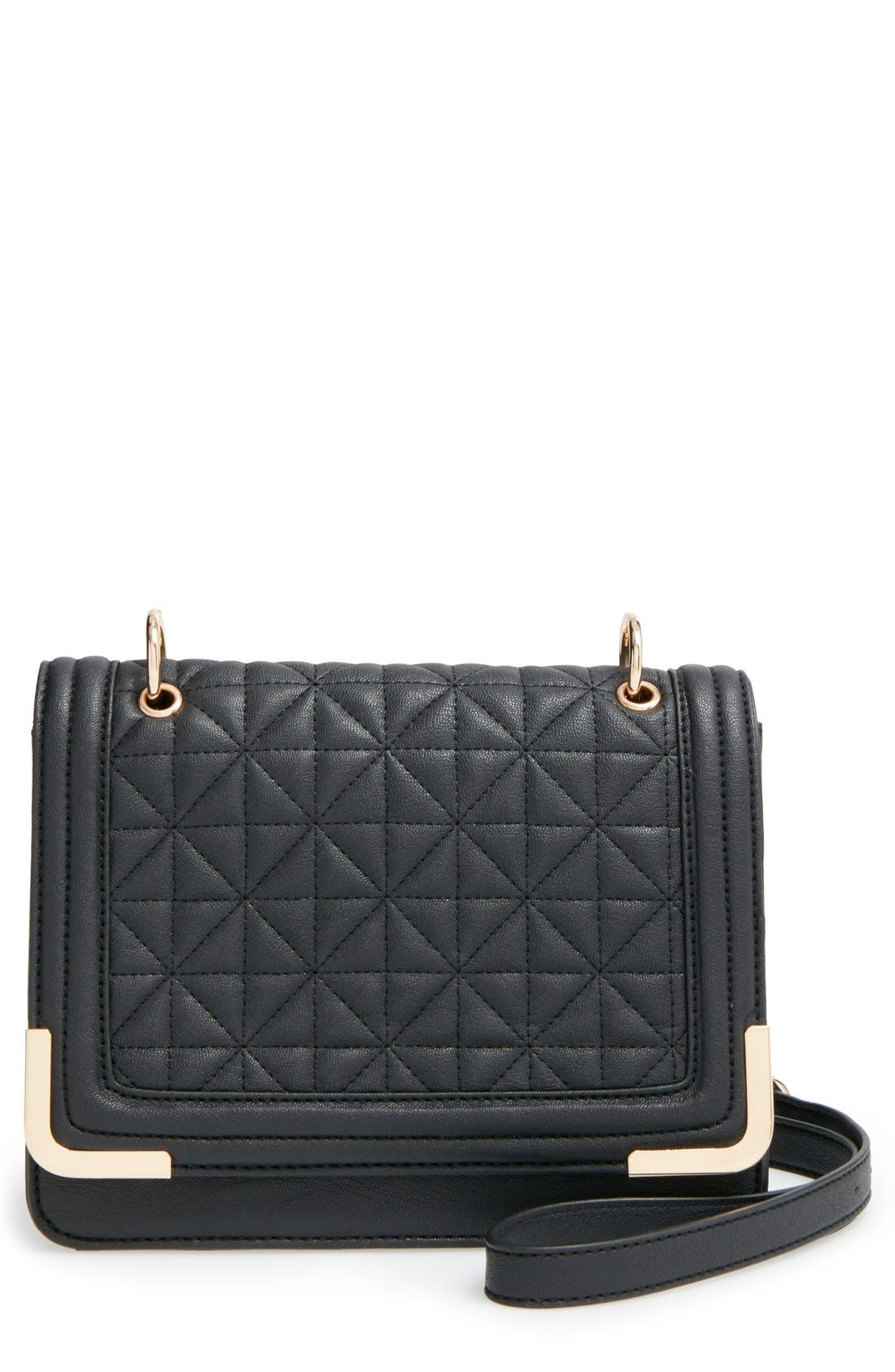BP. Quilted Crossbody Bag, Main, color, 001