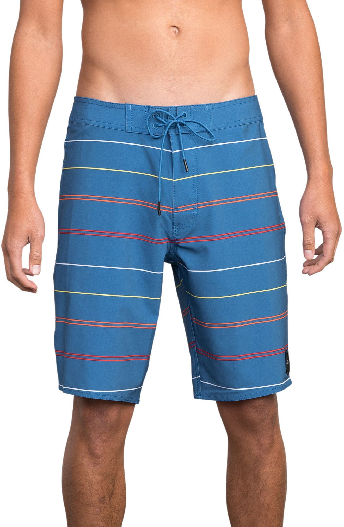 Middle Swim Trunks,                         Main,                         color, COBALT