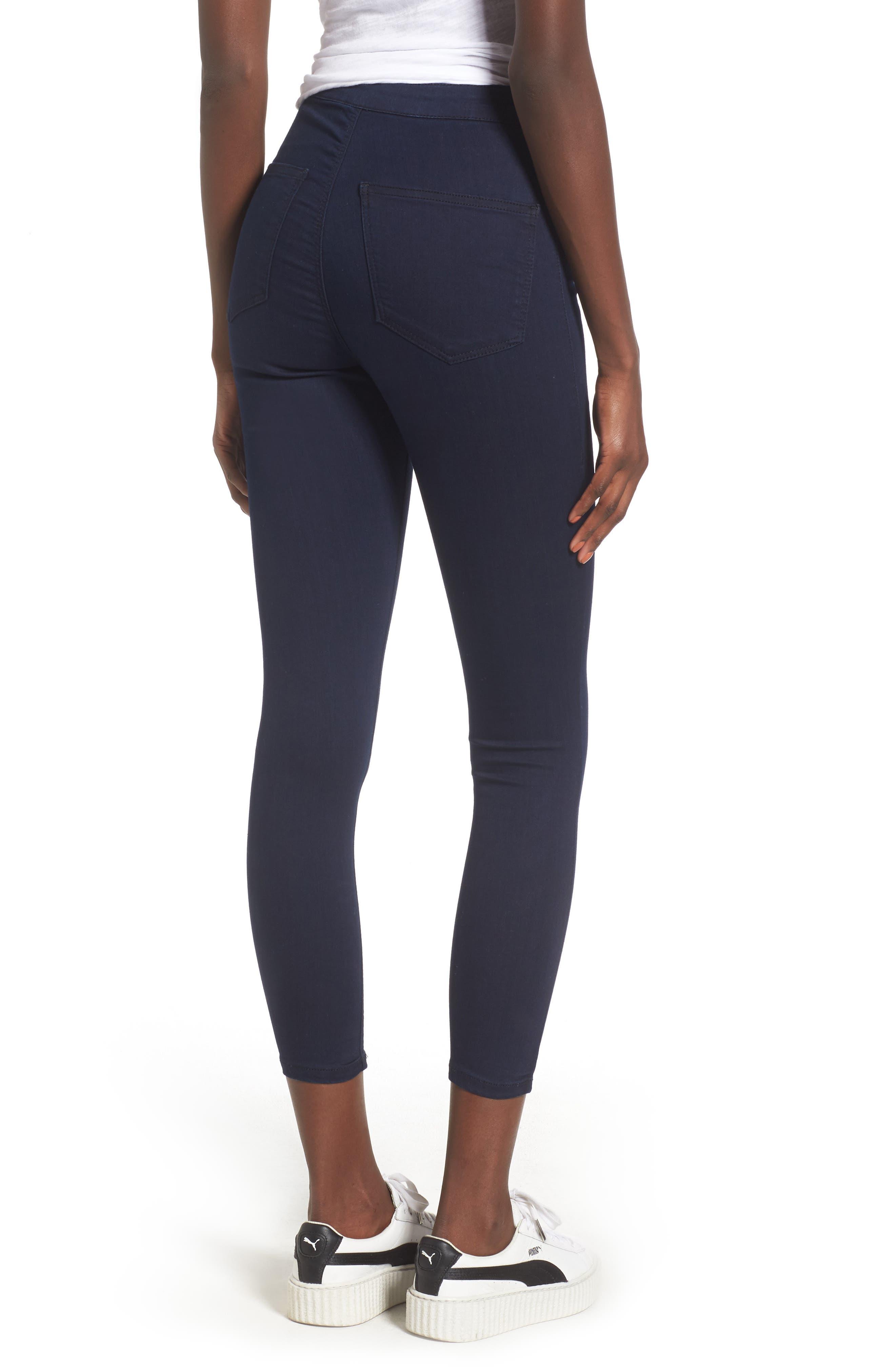 Joni Button Front Skinny Jeans,                             Alternate thumbnail 2, color,                             401