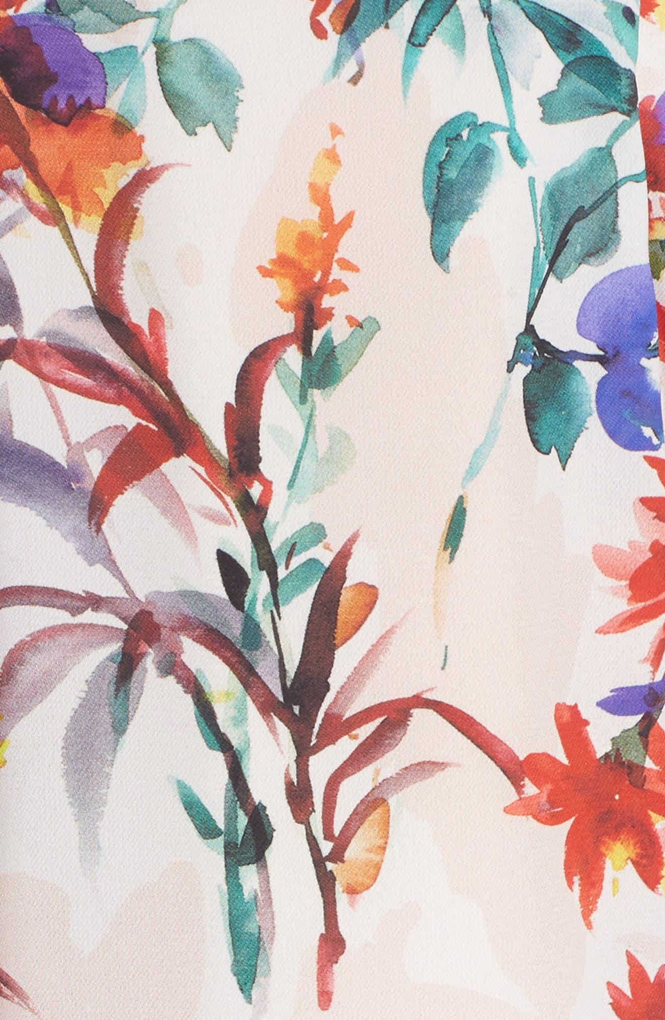 Vanessa Midi Dress,                             Alternate thumbnail 5, color,                             680