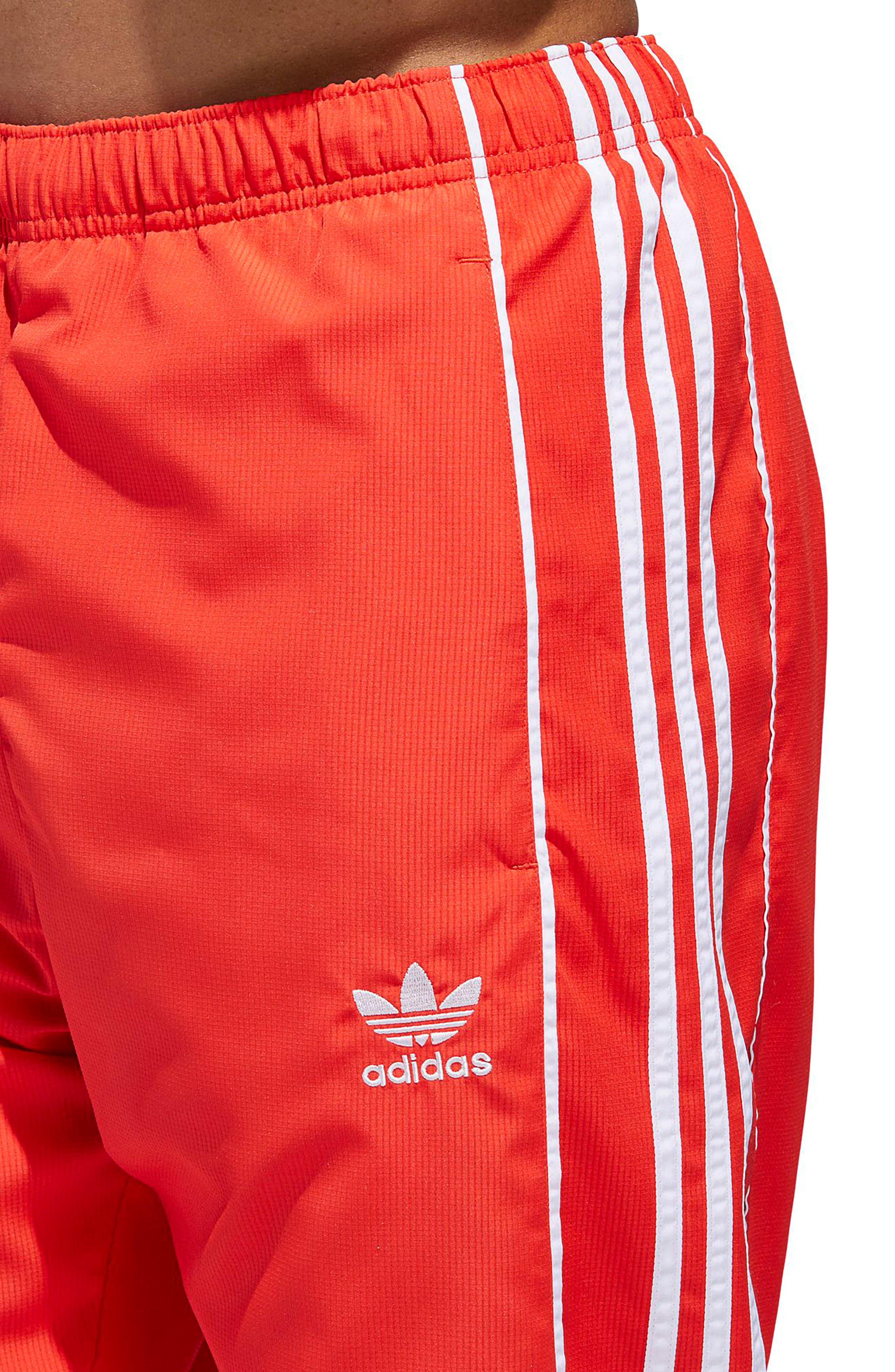 Authentics Ripstop Track Pants,                             Alternate thumbnail 6, color,                             HI-RES RED/ WHITE