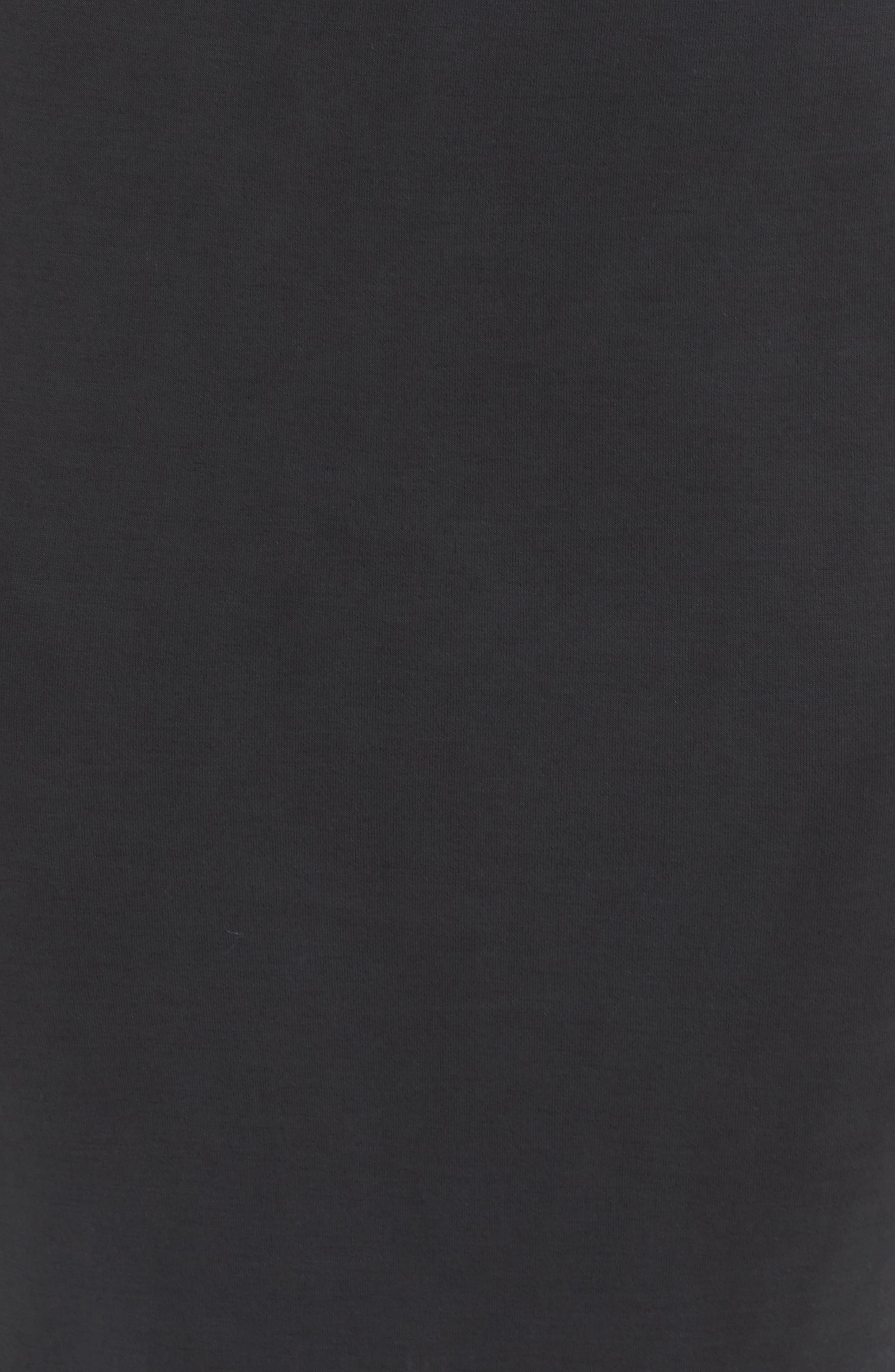 Gracie Cupro Body-Con Dress,                             Alternate thumbnail 5, color,                             001
