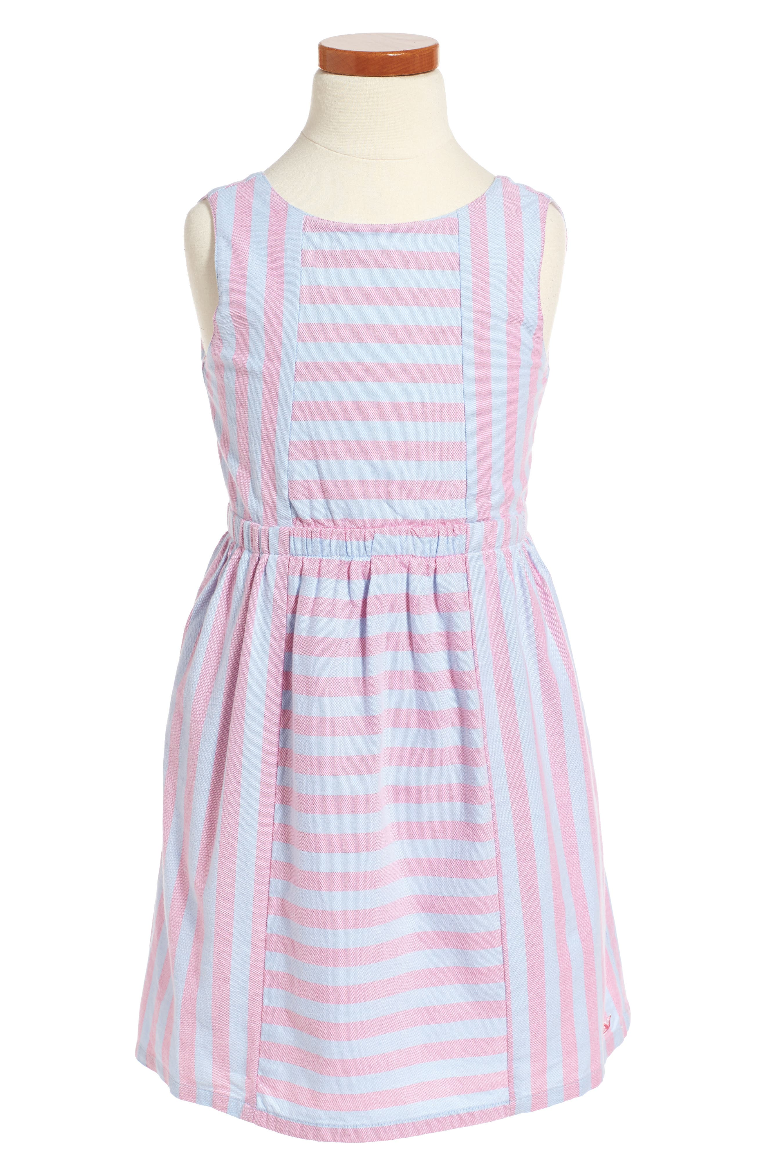 Coastside Stripe Dress,                             Main thumbnail 1, color,                             654
