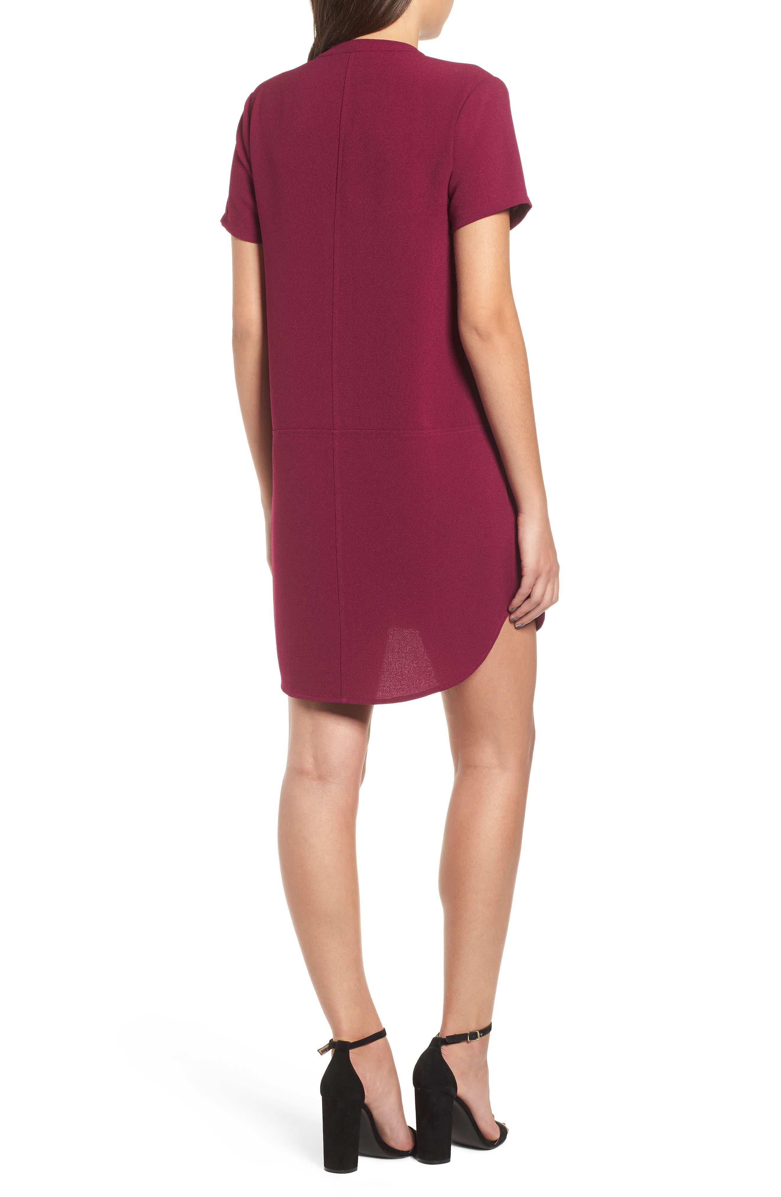 Hailey Crepe Dress,                             Alternate thumbnail 43, color,