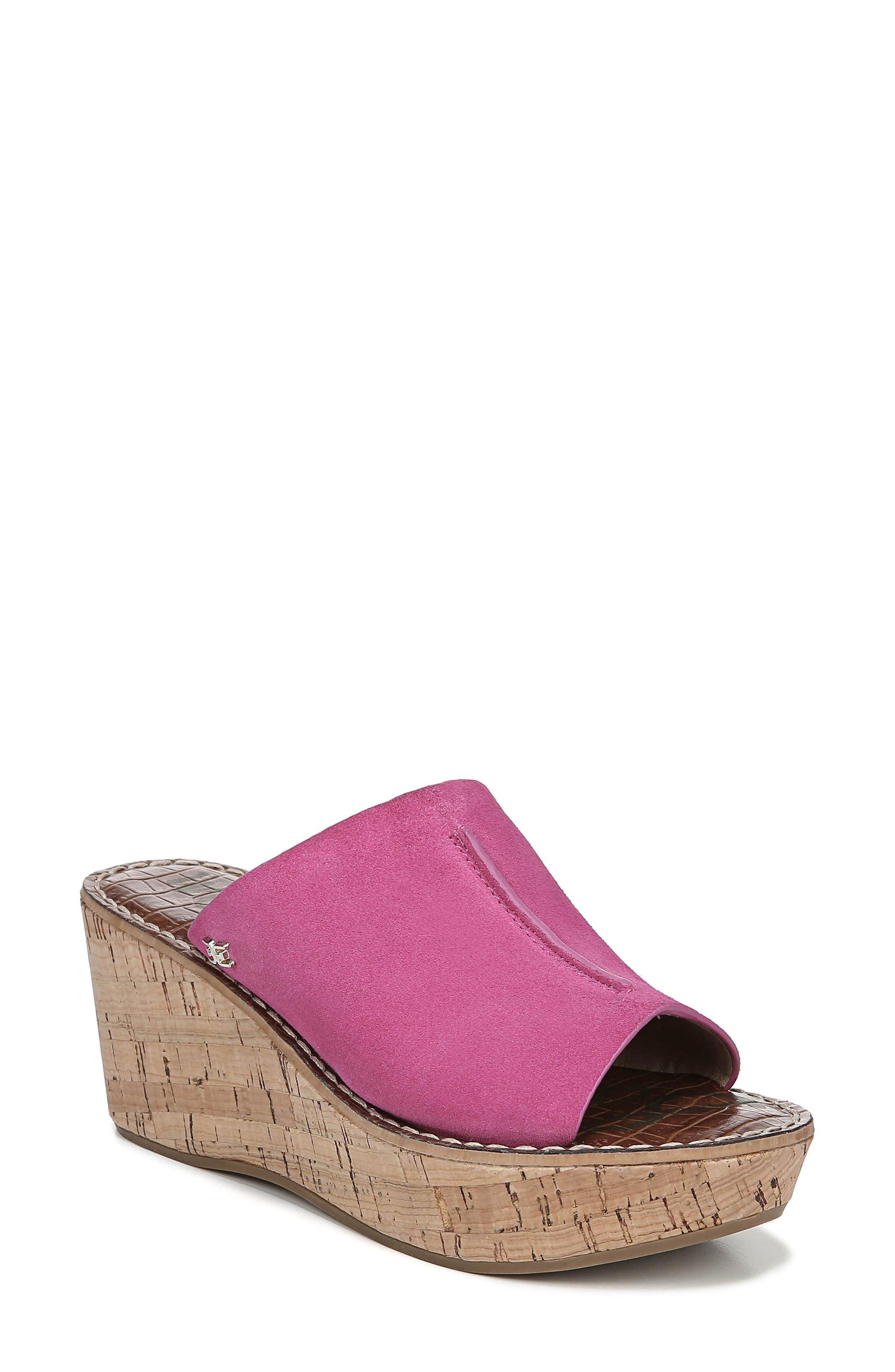Sam Edelman Ranger Platform Sandal- Pink
