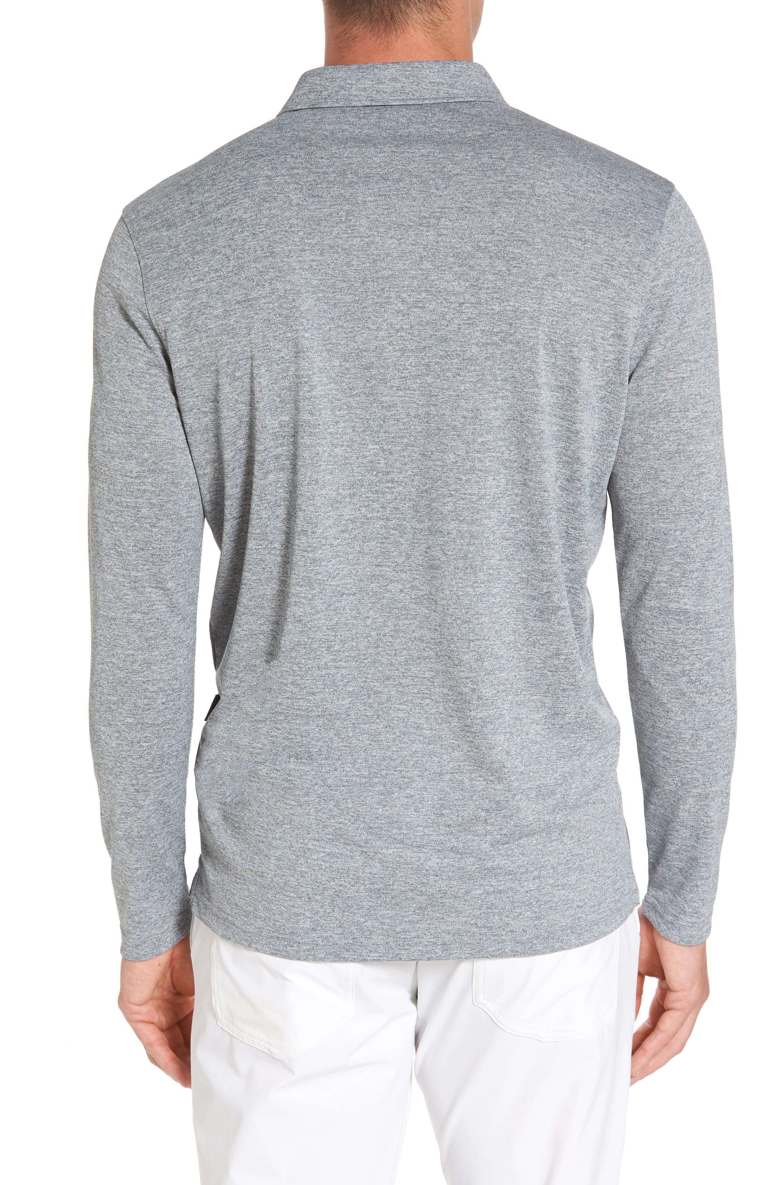 Hamden Long Sleeve Polo,                             Alternate thumbnail 2, color,                             029