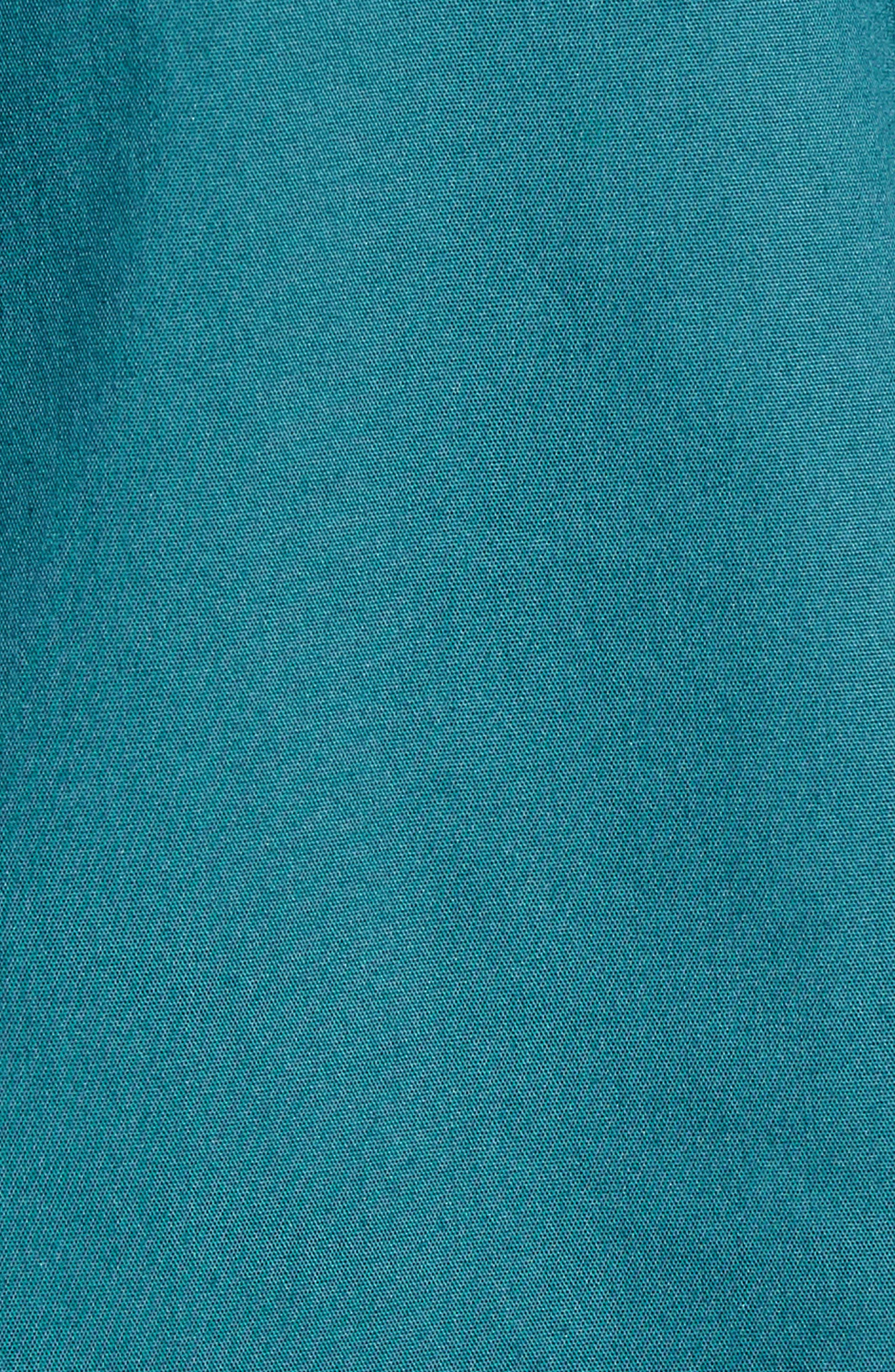 Smocked Corset Shirt,                             Alternate thumbnail 11, color,